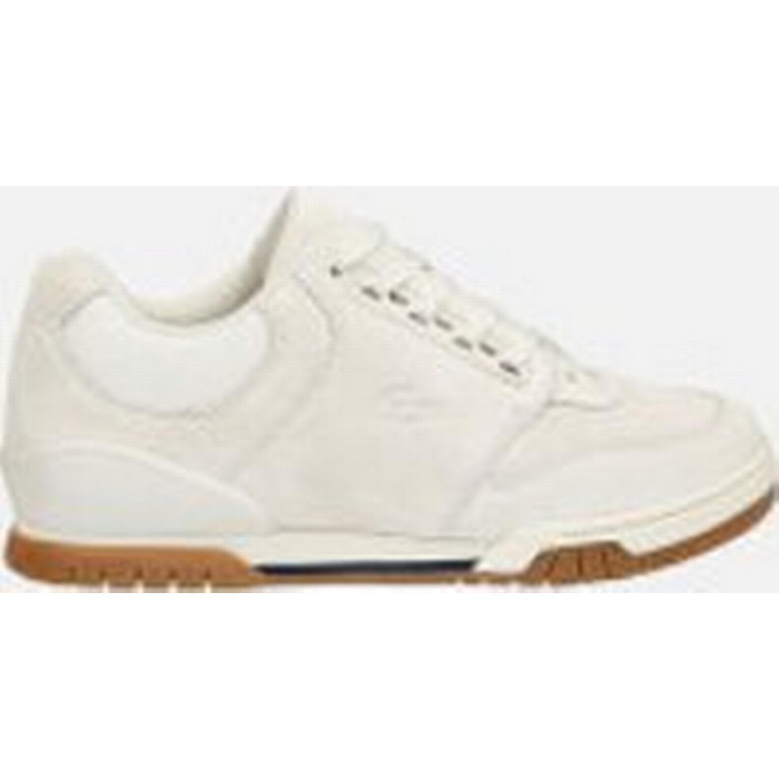 lacoste hommes & #    ; s indiana  formateurs - blancs - royaume - uni  - Blanc  bfd892
