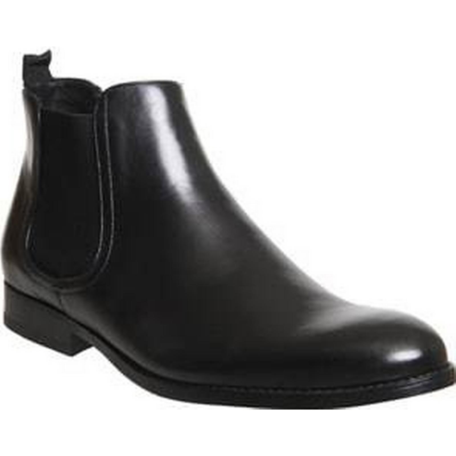 demander demander demander à la dame fortune chelsea botte en cuir noir... 811d48