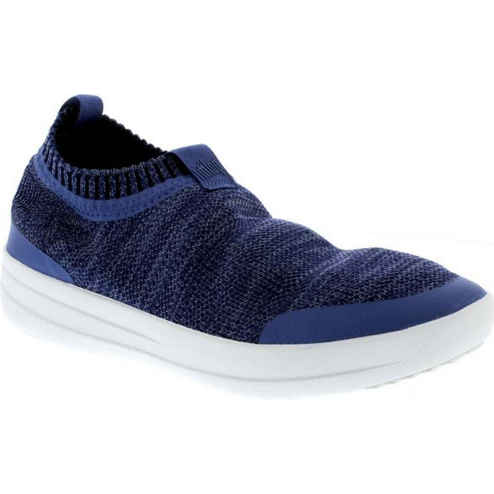 FitFlop™ FitFlop Uberknit Slip On On On Sneaker - Indian Blue/Powder Blue Size: 6. d4474b