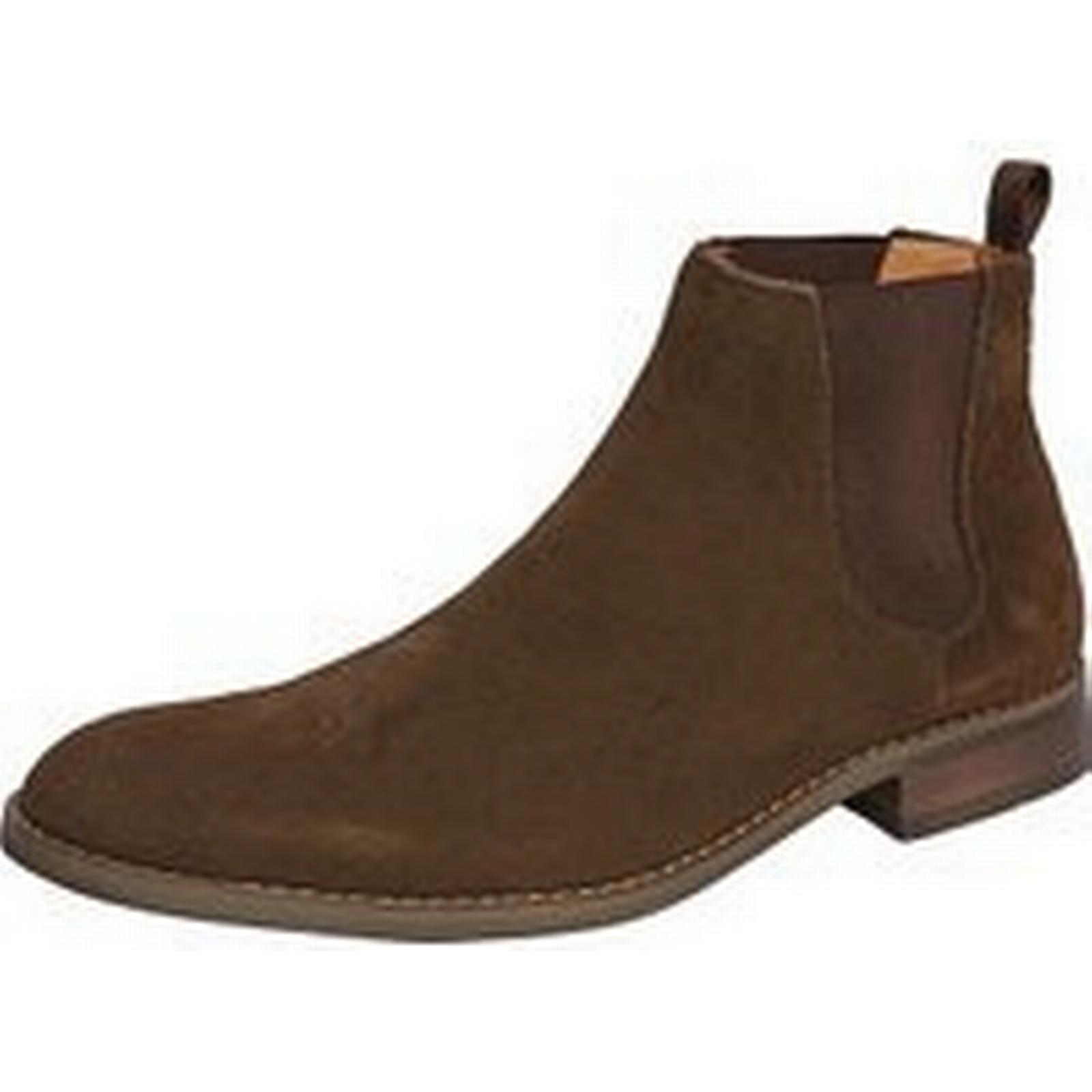 Bonanza (Global) Mens Handmade mens Brown ankle suede leather boots, Mens (Global) fashion suede brown boots 5b19a1