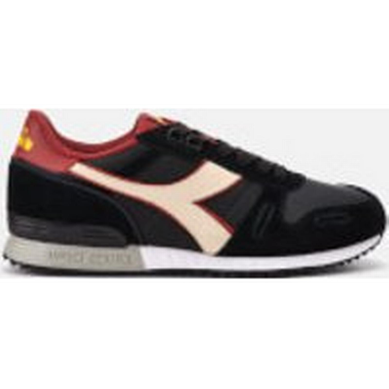 Diadora Men's Titan II Black/Pink Winter Pack Trainers - Black/Pink II Tint 4e67b7