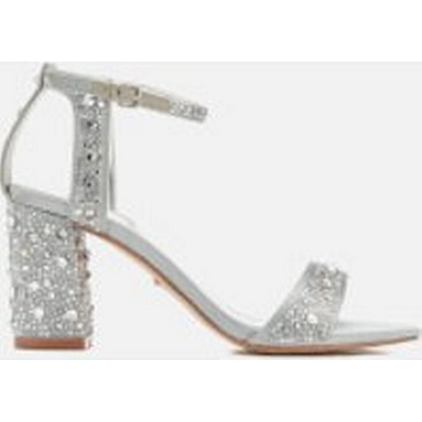 Carvela Women's Gigi Satin Blocked Grey Heeled Sandals - Grey Blocked 51499d