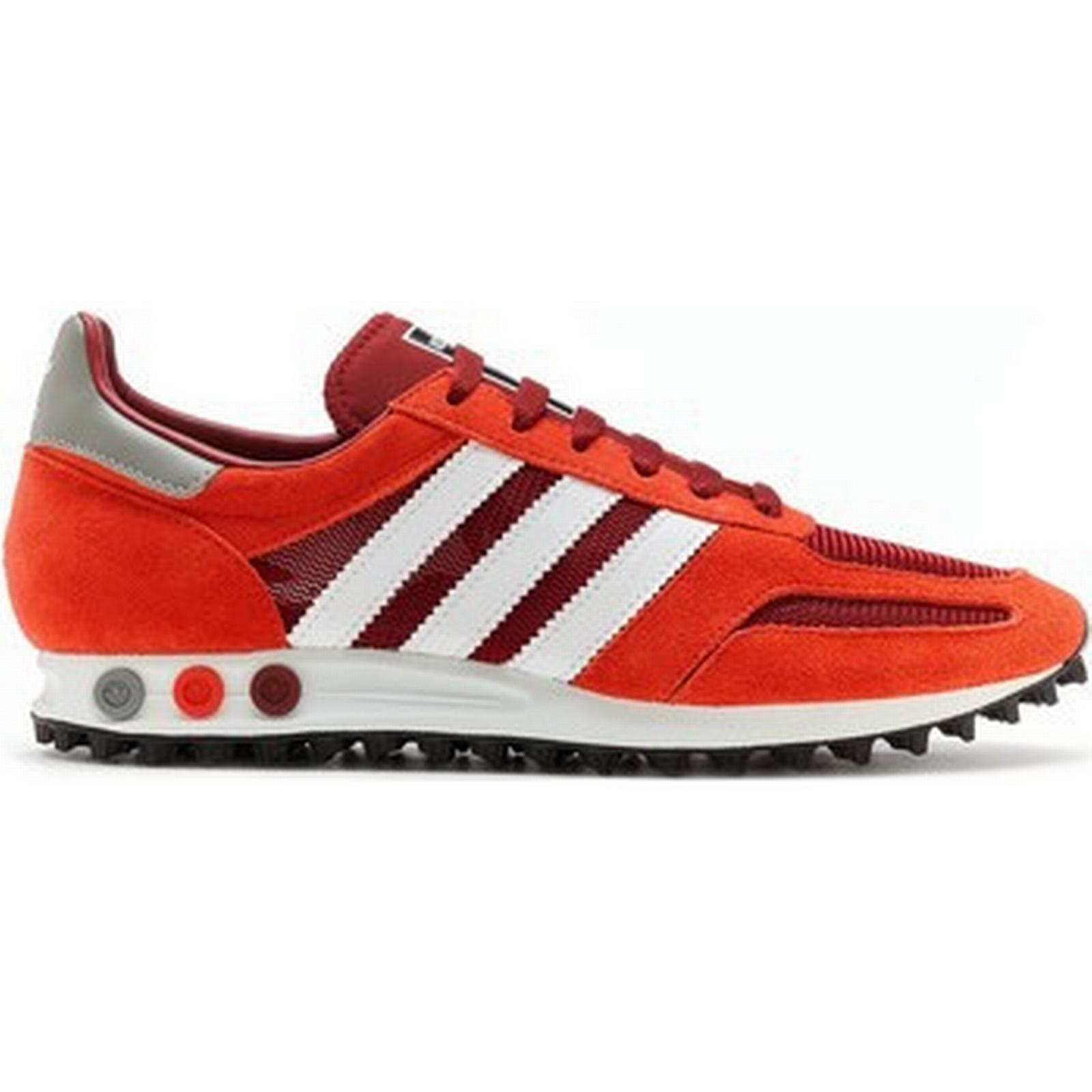 spartoo.co.uk spartoo.co.uk spartoo.co.uk adidas originaux los angeles og formateurs en bourgogne, blanc Rouge  bb hommes & #  ; s Chaussure s formateurs en rouge fff4a4