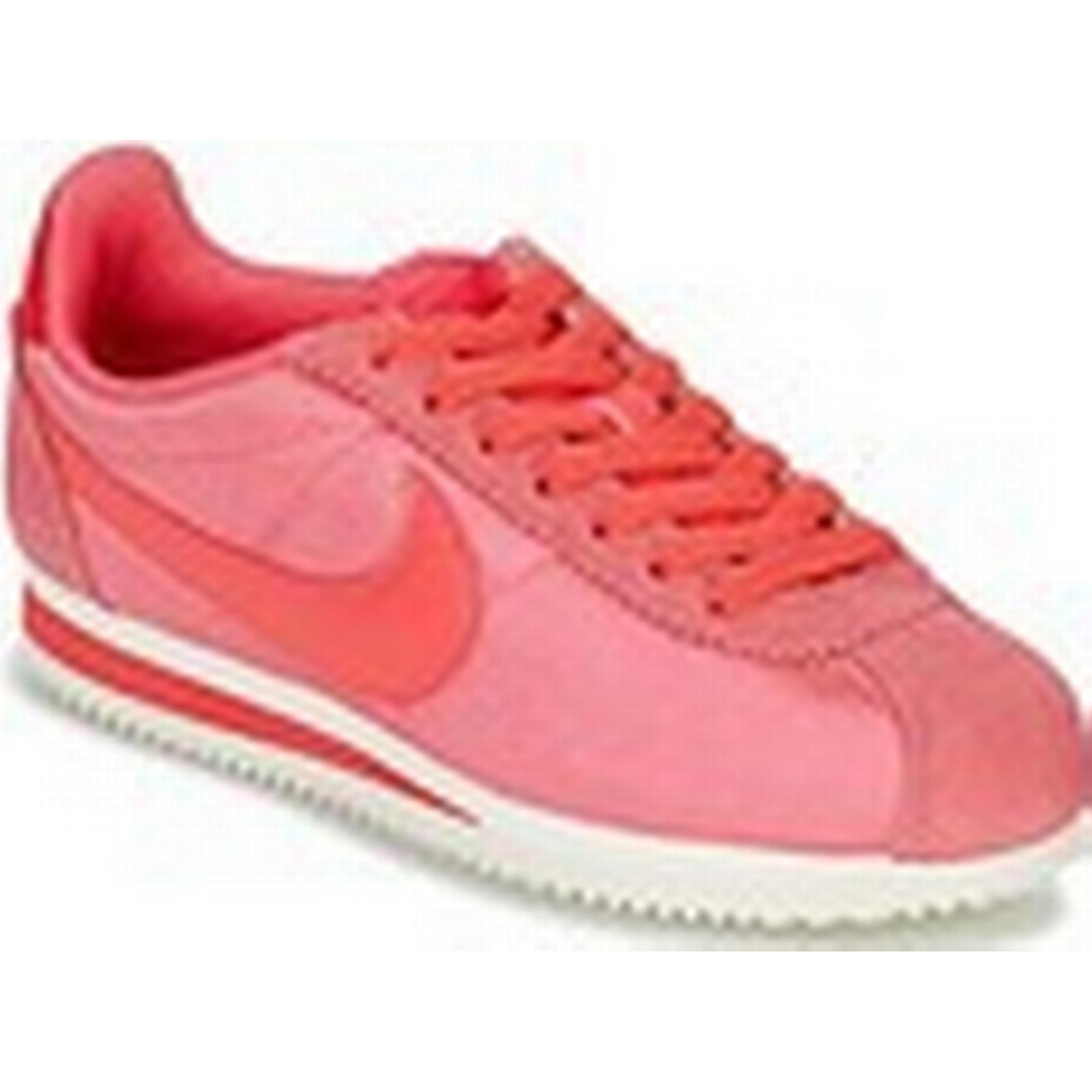 the latest 0690b 4a343 ... order nike womens classic cortez nylon w womens nike shoes trainers in  pink ead966 9dbae e9cc4