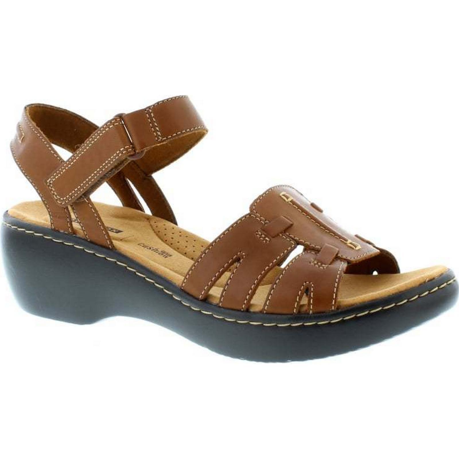 Clarks Delana Nila - 6.5 Dark Tan Leather Size: 6.5 - UK cbf18a