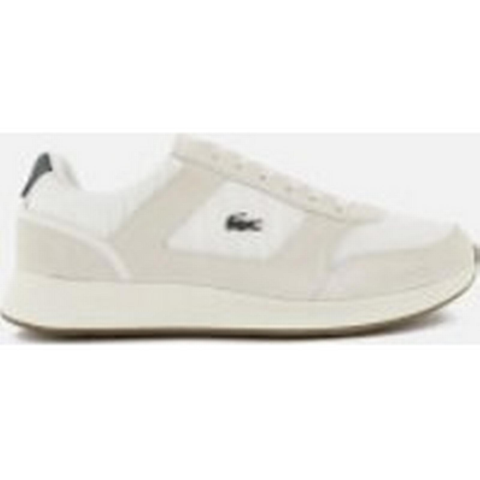 Lacoste Runner Men's Joggeur 118 1 Runner Lacoste Trainers - Off White/Dark Green e07faa