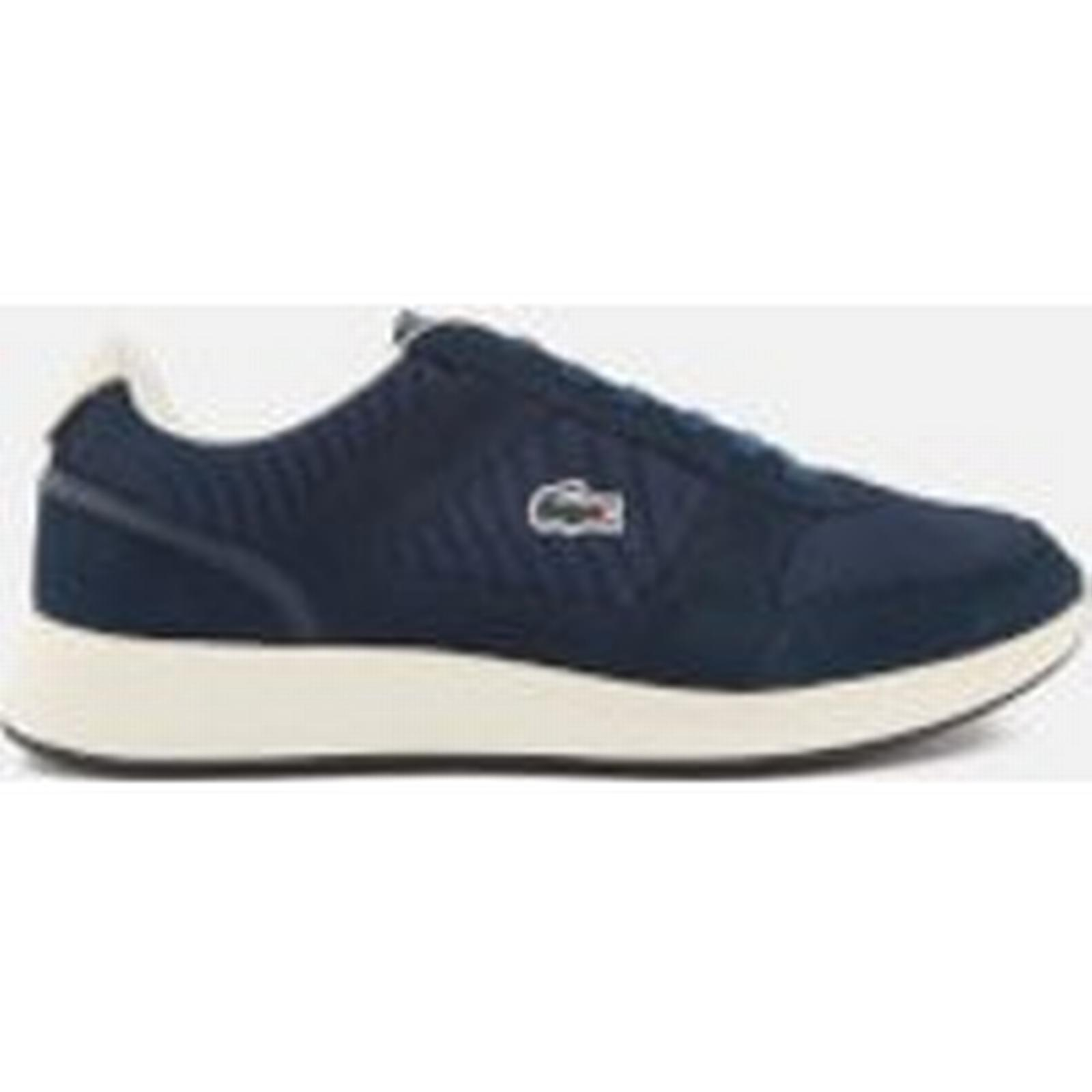 Lacoste Men's Joggeur 118 Navy/Off 1 Runner Trainers - Navy/Off 118 White 38341b