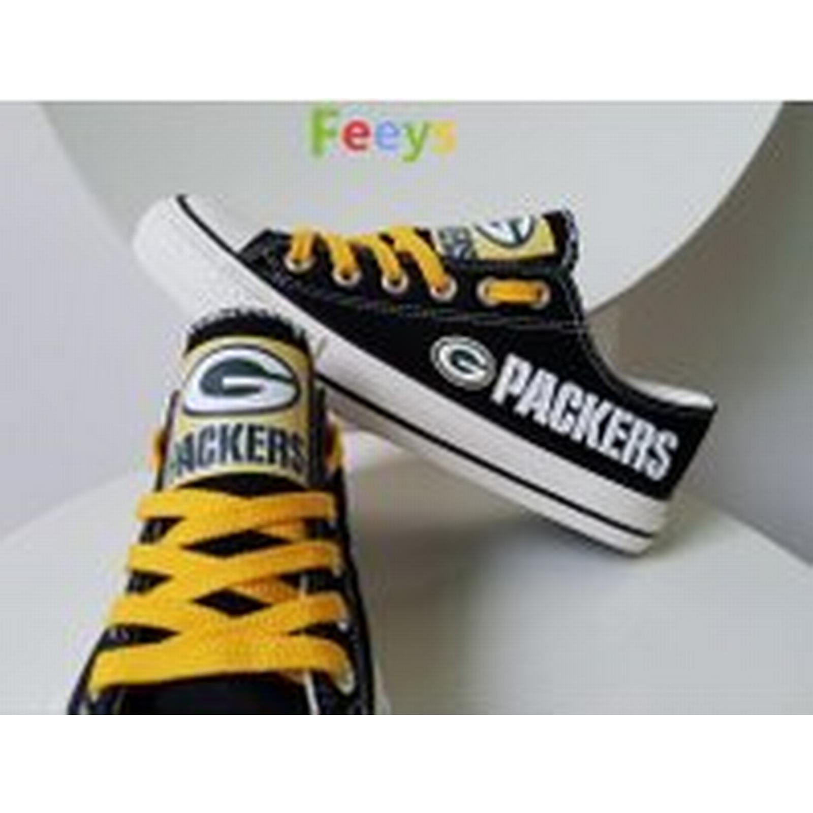 Bonanza (Global) Packers Green Bay Packers (Global) shoes Packers sneakers Fashion Christmas gift birthday gift H2 10ce81