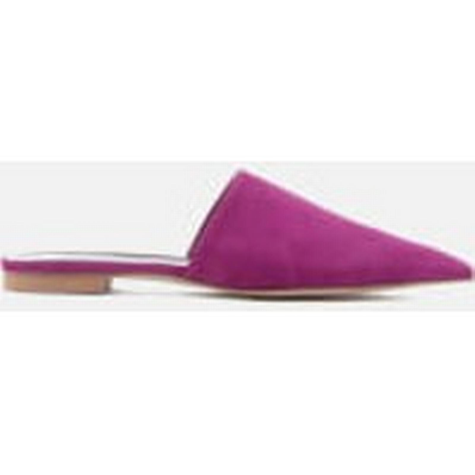Rebecca Minkoff Women's Sara Suede - Pointed Mules - Fucsia - Suede UK 6 - Pink 863051