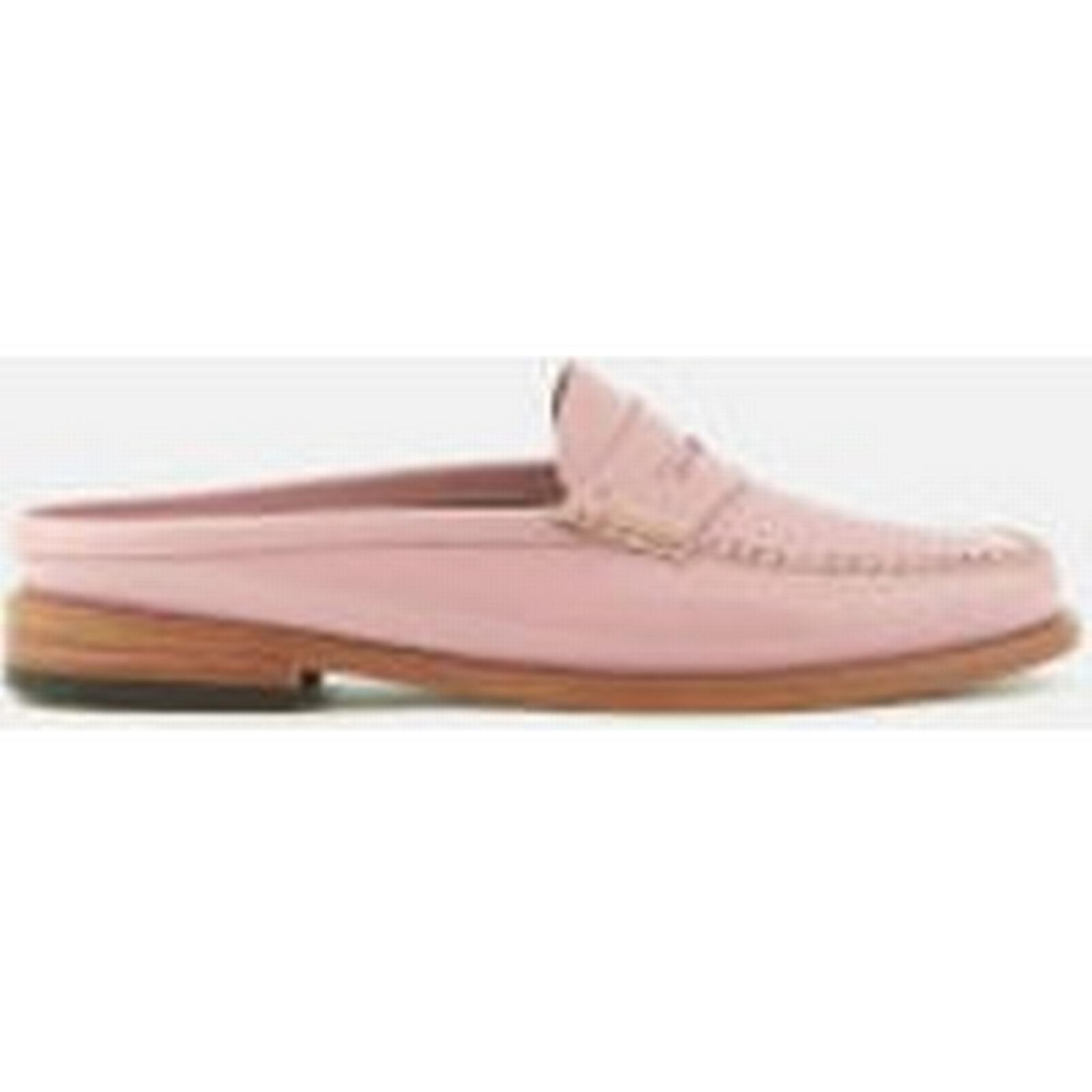 Bass Weejuns Women's Penny Slide Wheel Patent Leather Loafers - 4 Bridal Rose - UK 4 - - Pink 8c0df7