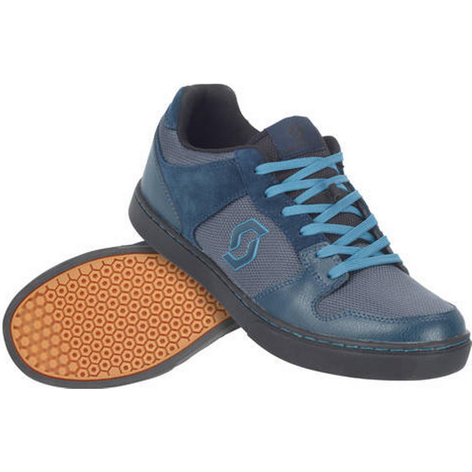 Scott FR | 10 Flat Cycling Shoes | FR Blue/Black - 46 d02b09