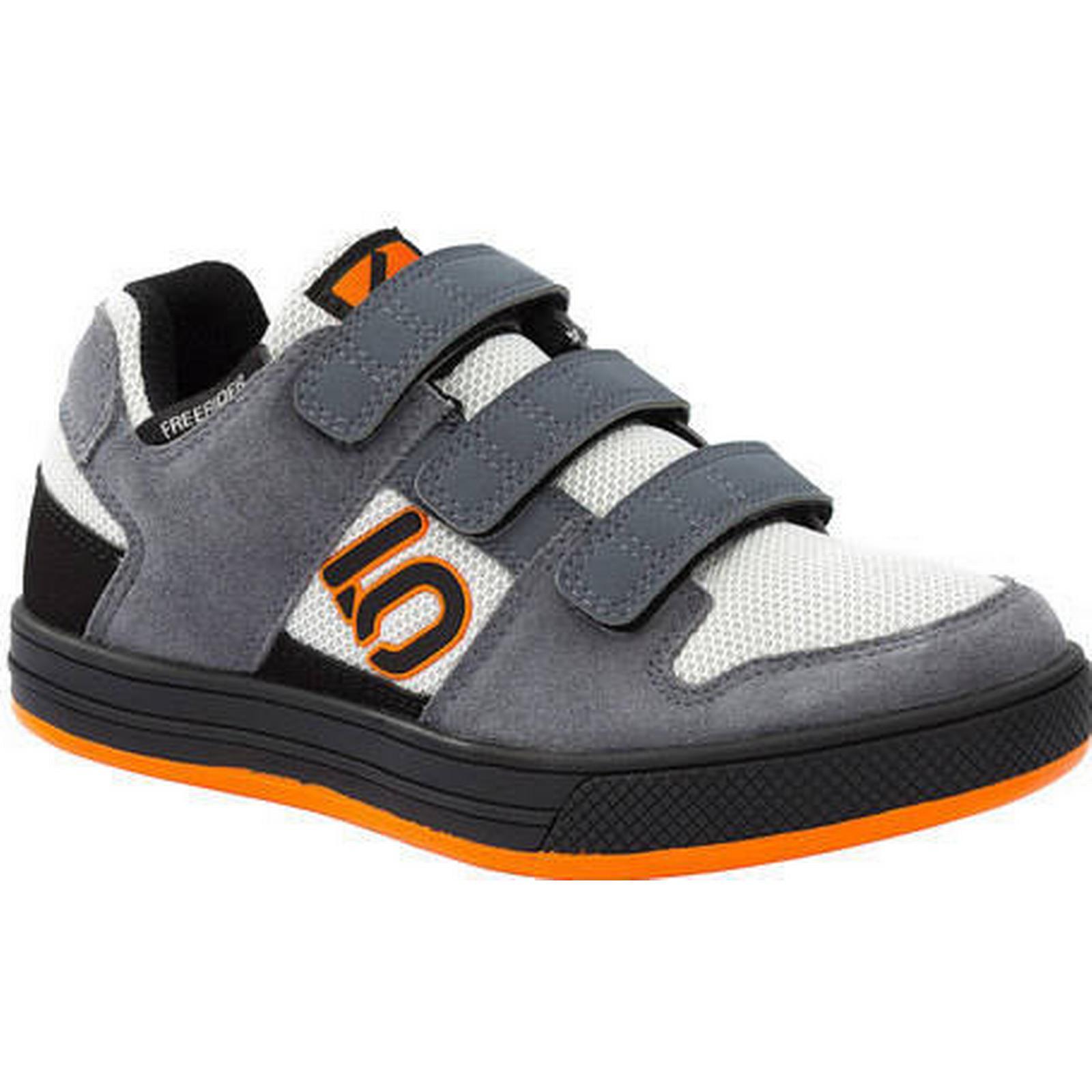 Five Ten Freerider VCS Velcro Grey Kid's Flat Shoes | Grey Velcro - 10 684a5e
