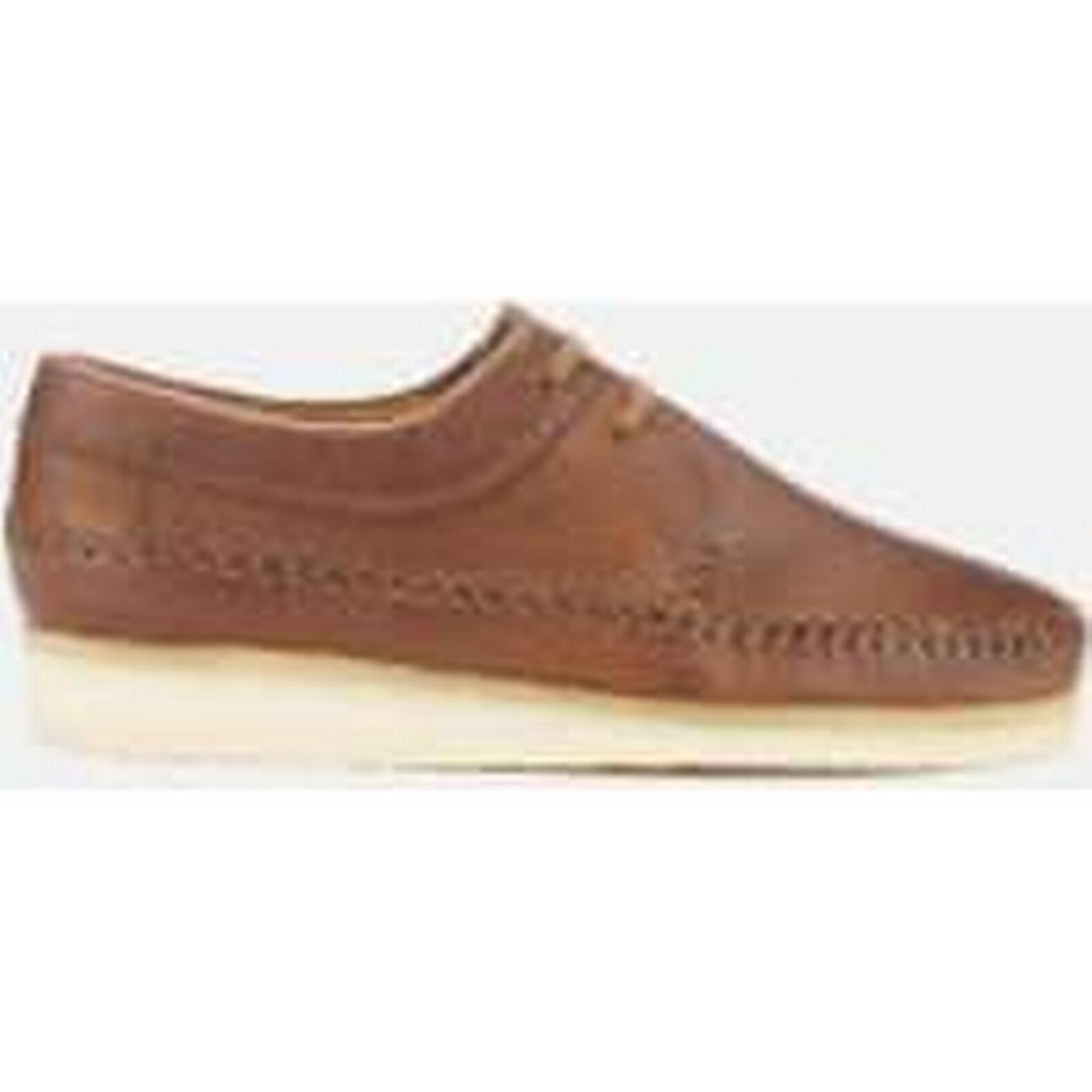 Clarks Originals UK Men's Weaver Shoes - Tan Leather - UK Originals 11 - Tan c034f6