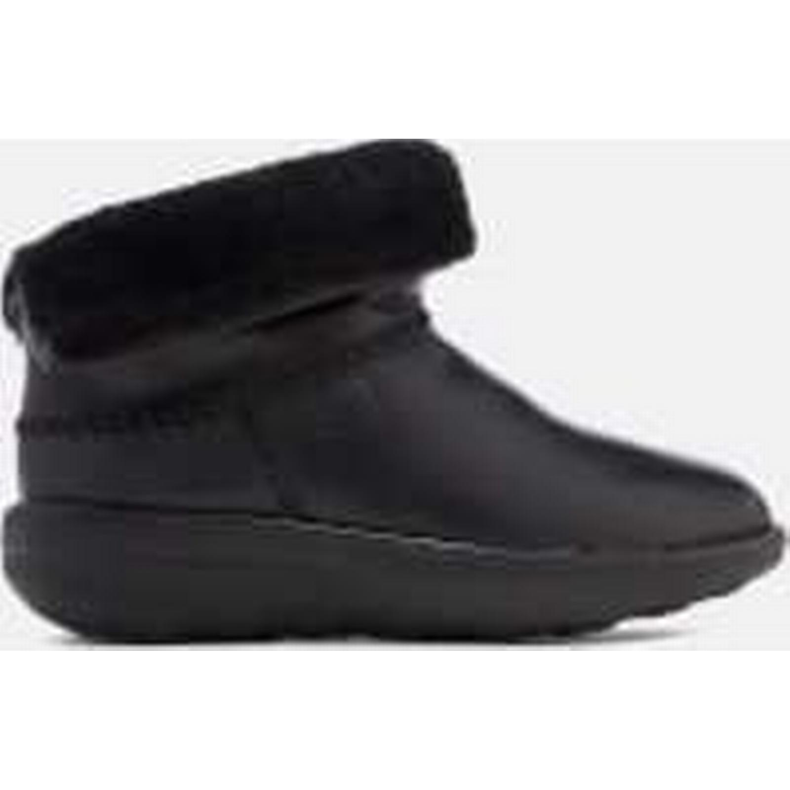 fitflop fitflop fitflop femmes & #  ; s mukluk cuir shorty  bottes - noir b400d9
