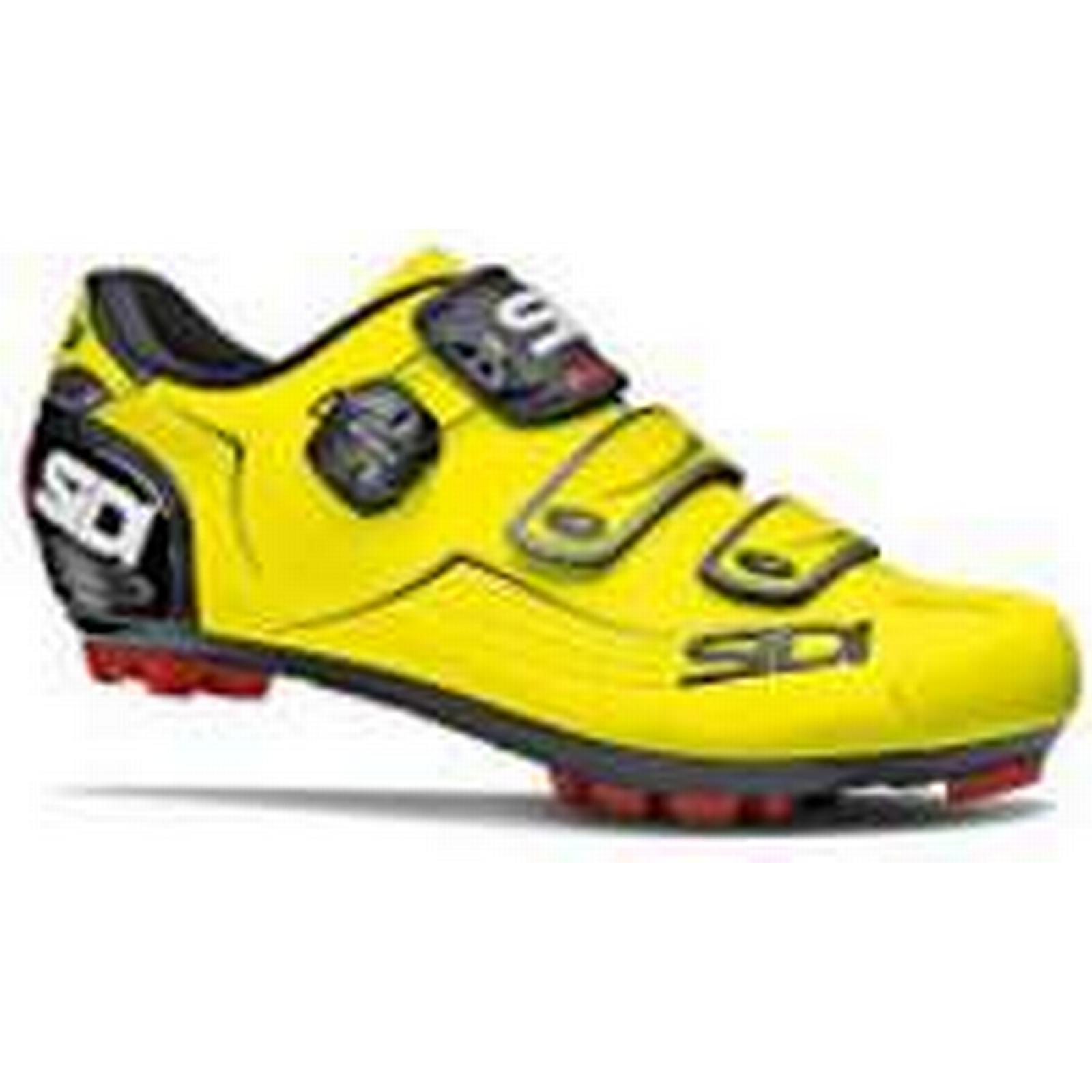 Sidi Trace MTB Shoes - Yellow - Fluo/Black - EU 47 - Yellow Yellow Fluo/Black 6f5595