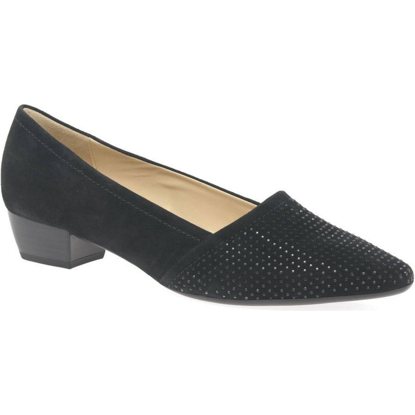 Gabor Azalea Womens Suede, Casual Shoes Colour: Black Suede, Womens Size: 6 517ef4