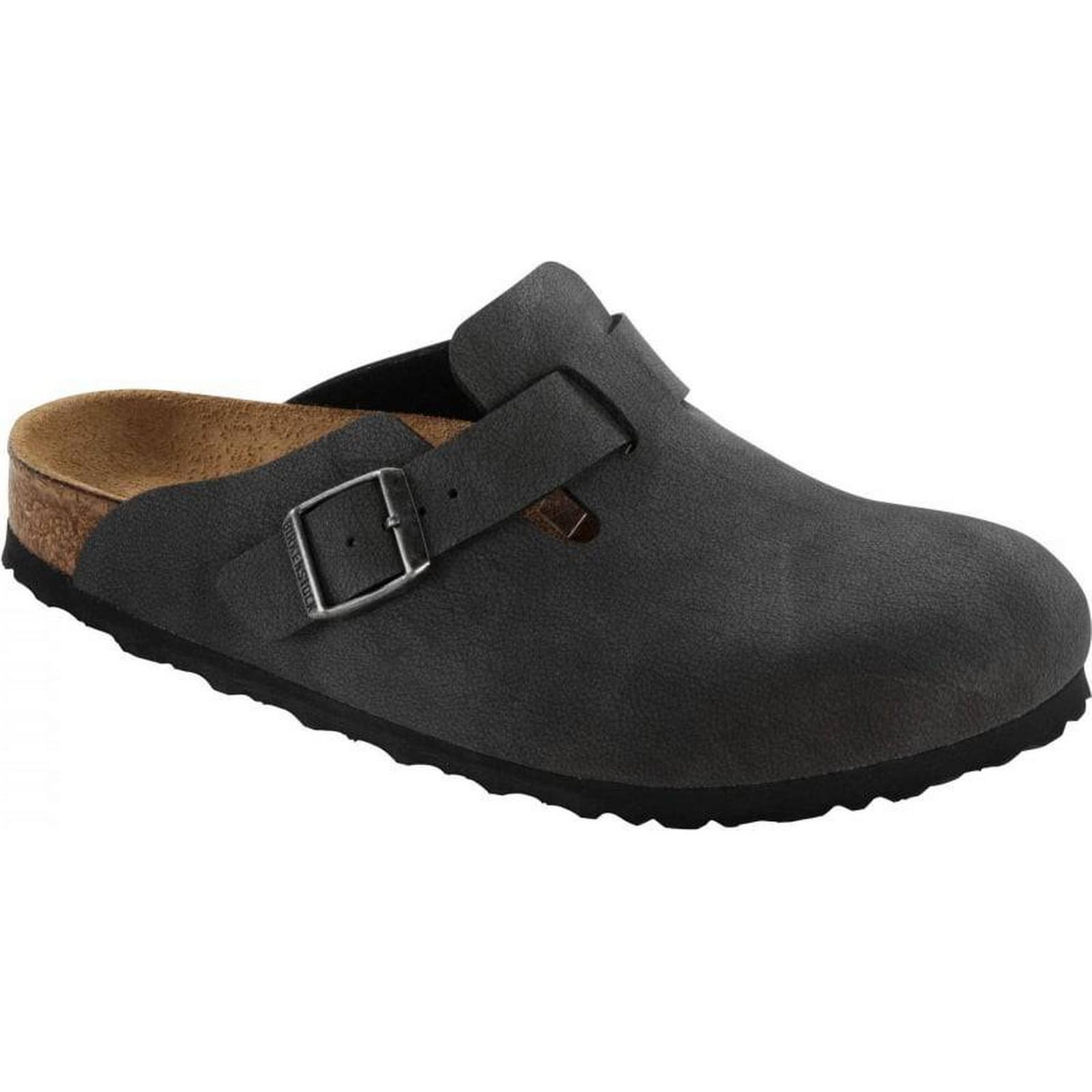 Birkenstock Unisex Boston Narrow Fit 44 - Black 0060193 Size: 44 Fit EU b30a8c