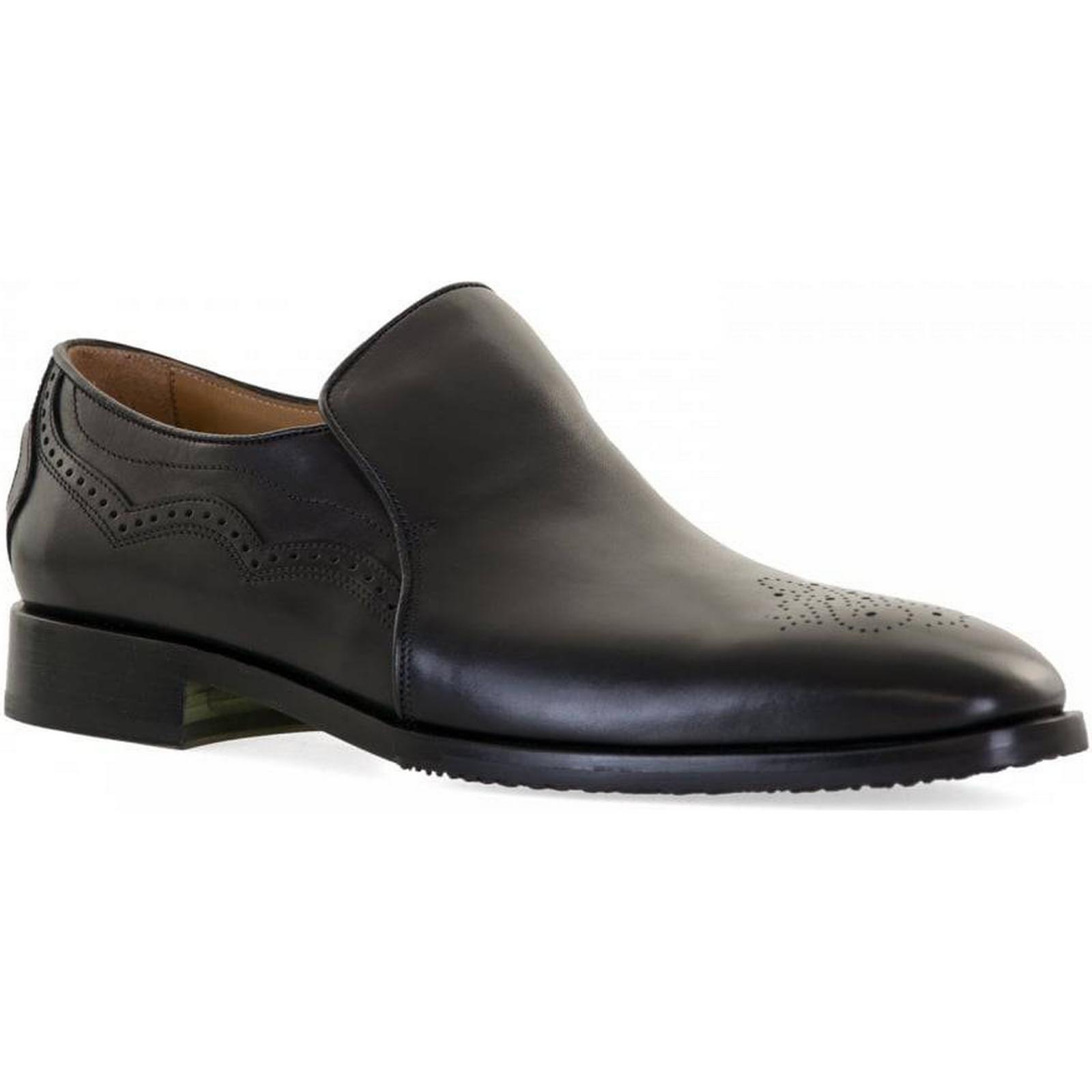 Oliver Sweeney Mens Fermignano 11, Slip On Shoes (Black) Size: 11, Fermignano Colour: 224c45