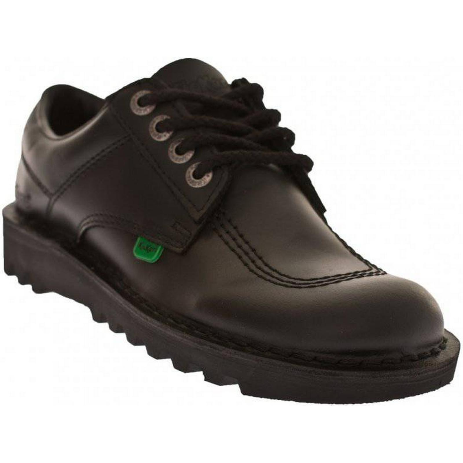 Kickers Womens Size: Kick Lo Core Shoes (Black) Size: Womens 6.5, Colour: BLACK 9fe1a7
