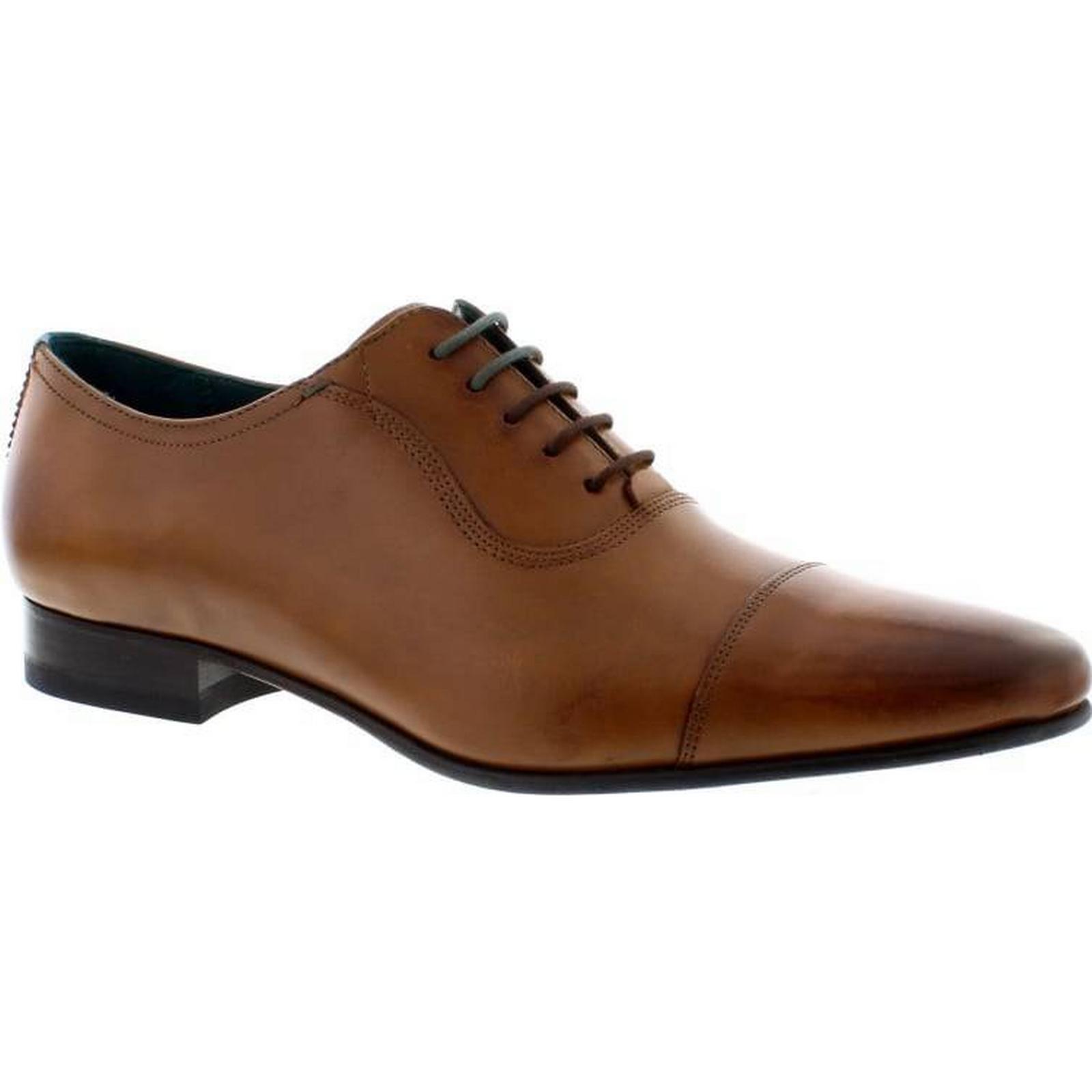 Ted Baker Leather Karney - Tan Leather Baker Size: 10 UK 523300