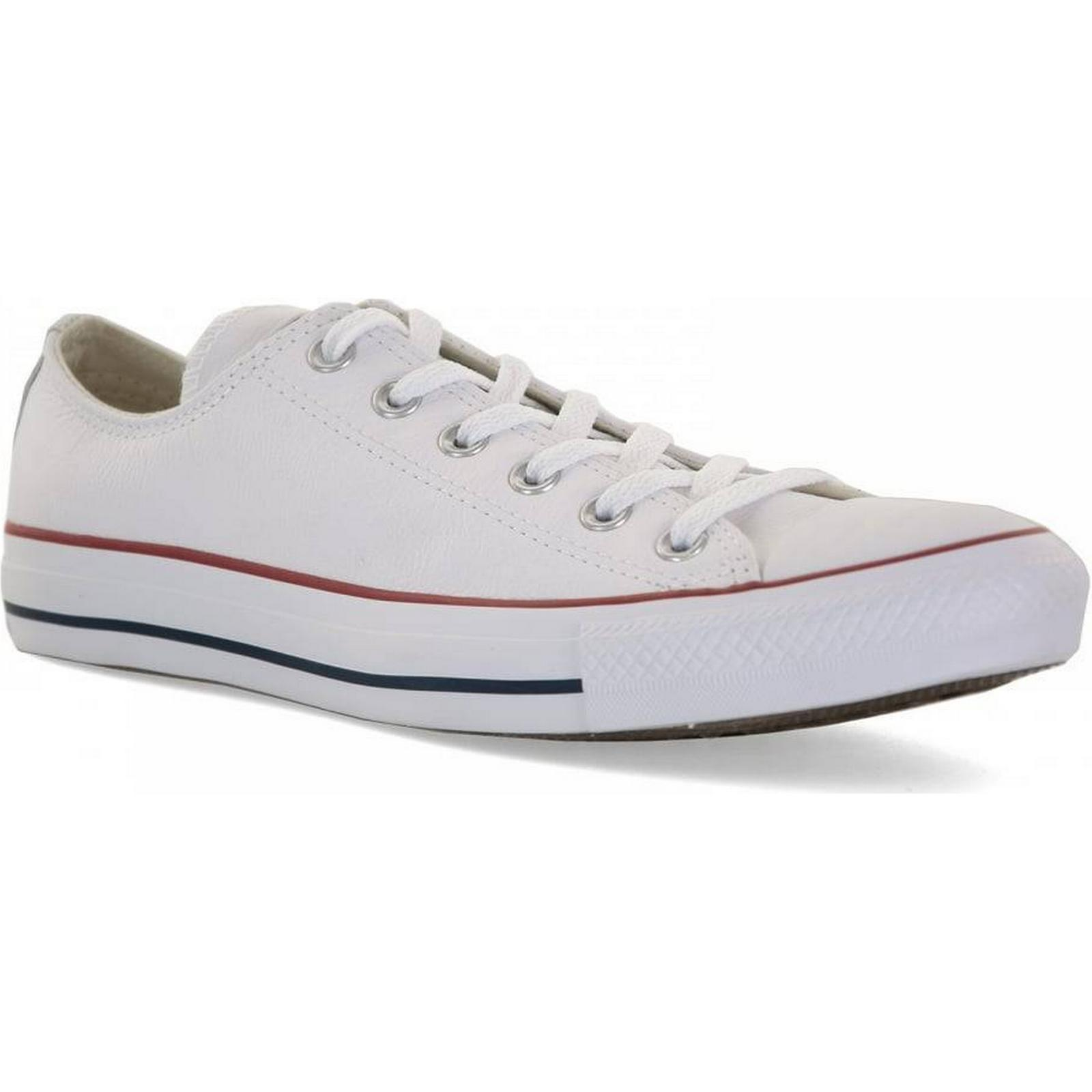 Converse Mens Core Leather OX Trainers 5 (White) Colour: WHITE, Size: 5 Trainers 16f480