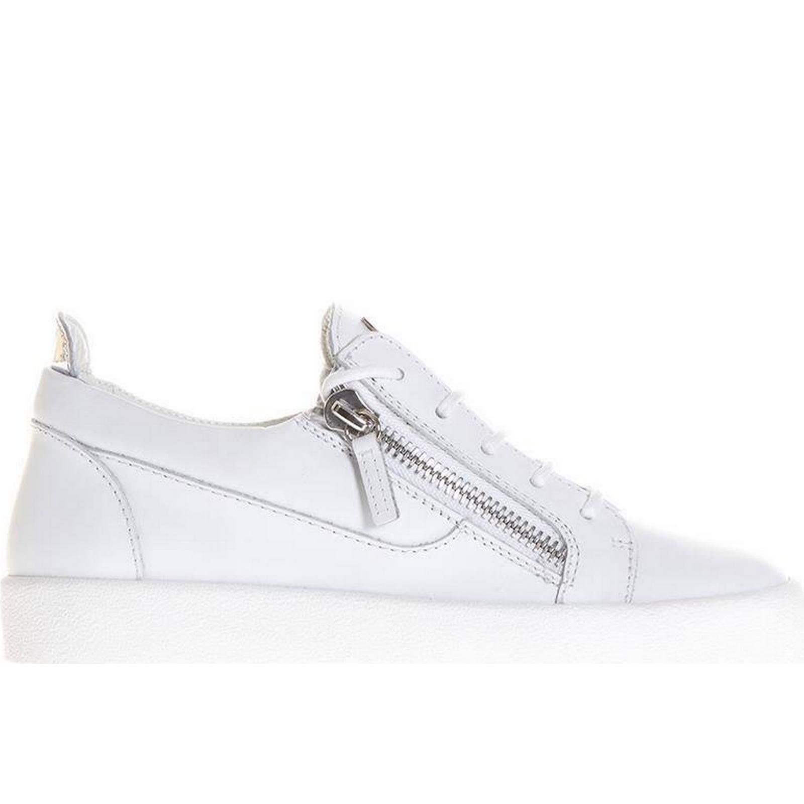 giuseppe giuseppe giuseppe zanotti nicki Blanc  cuir chaussures cd6c3a