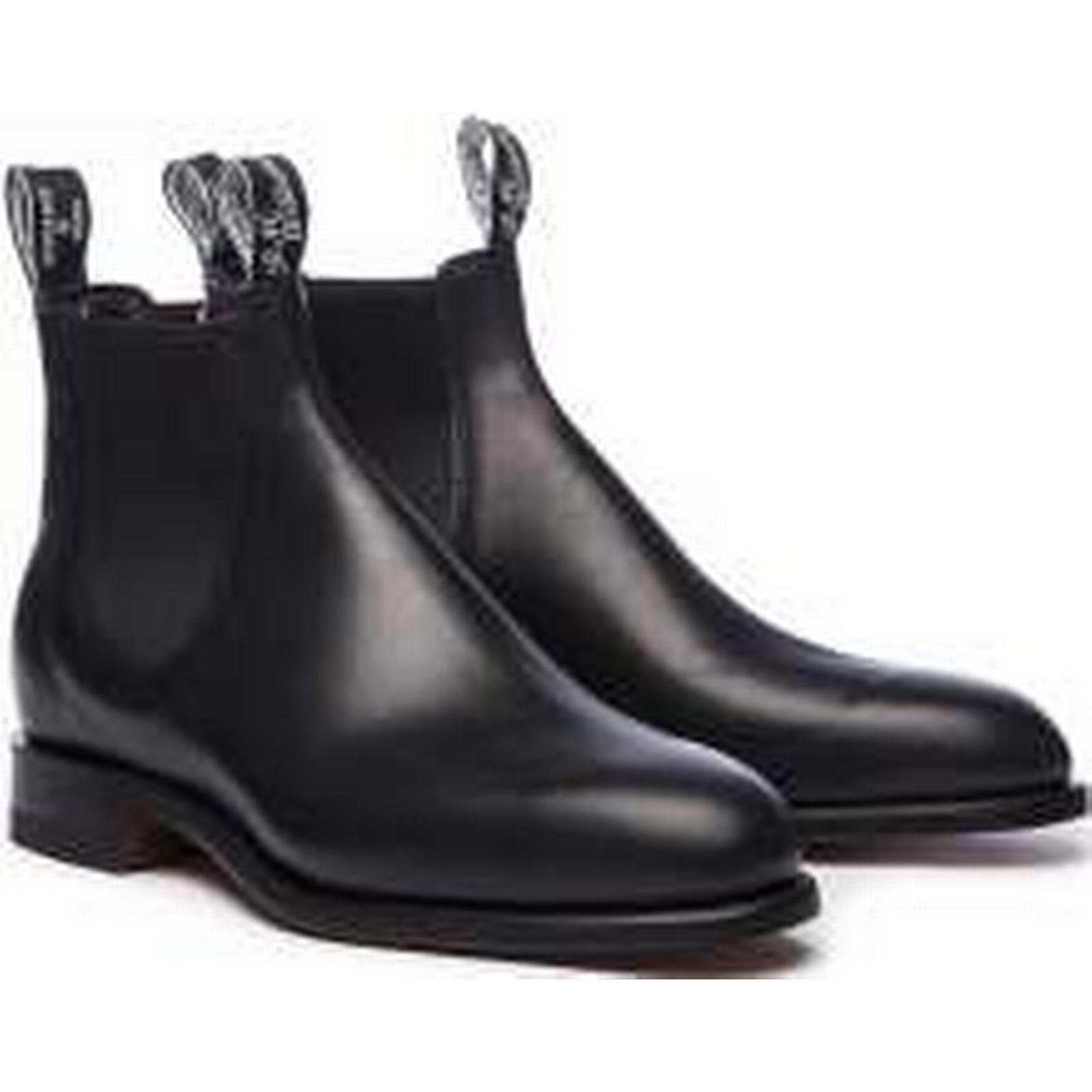 R.M. Williams Comfort Turnout Boots, UK8 Black Regular G Fit, UK8 Boots, 1b746c