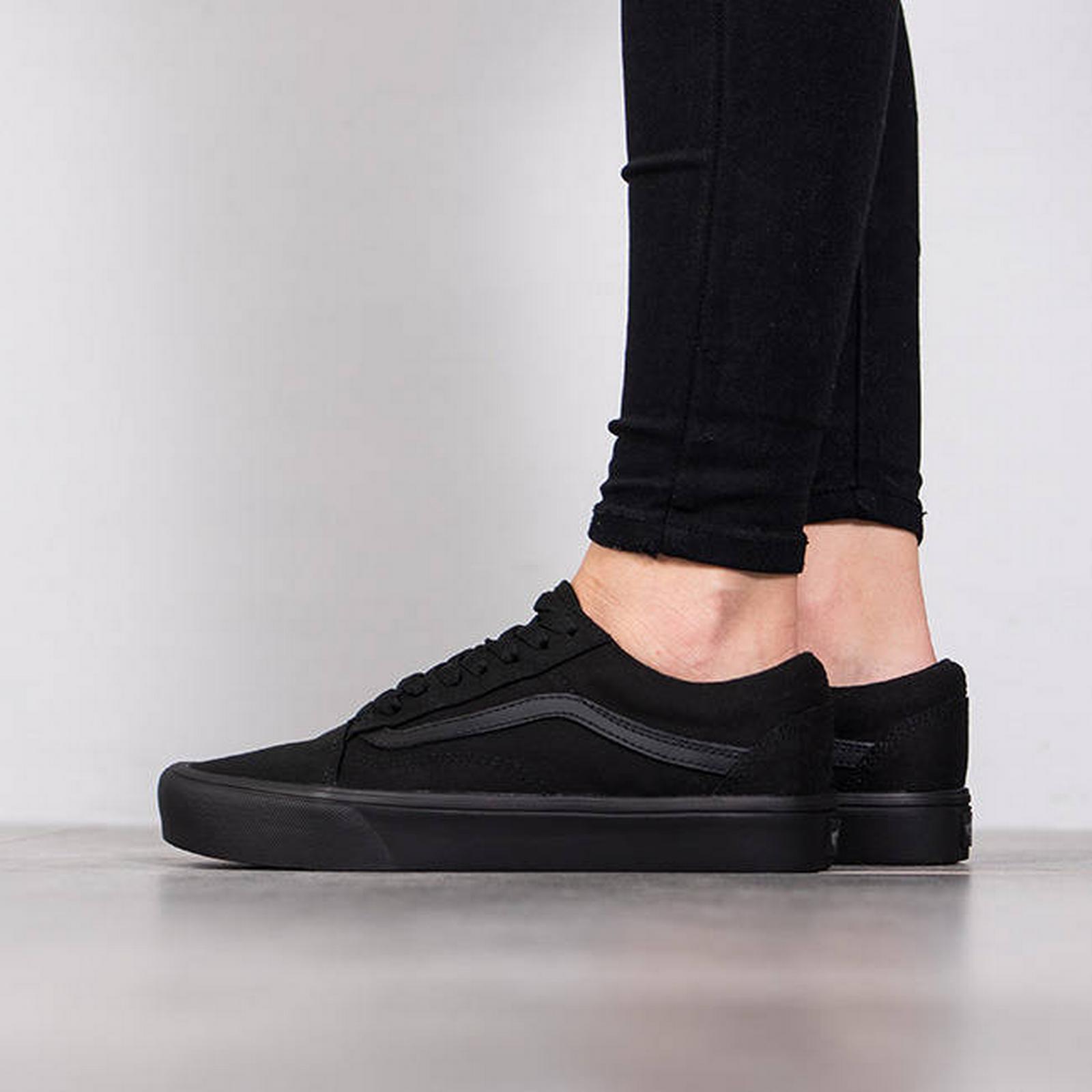 Vans Women's Shoes BLACK sneakers Vans Old Skool Lite A2Z5W186 BLACK Shoes Size 40,5 c17fc6
