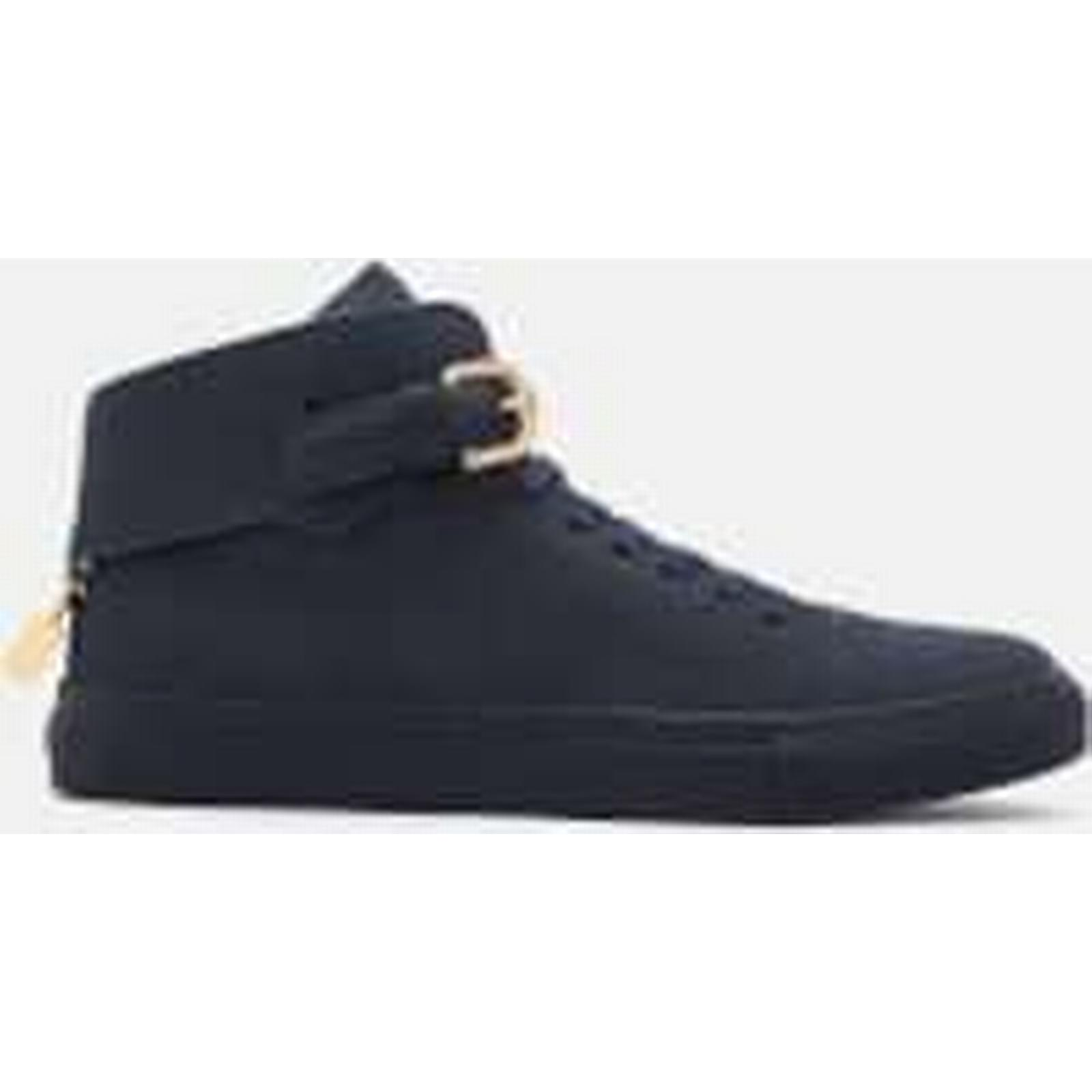 Buscemi Men's 100MM Buckle High Top Trainers - - Ocean - UK 9 - - Blue 6a3a6f