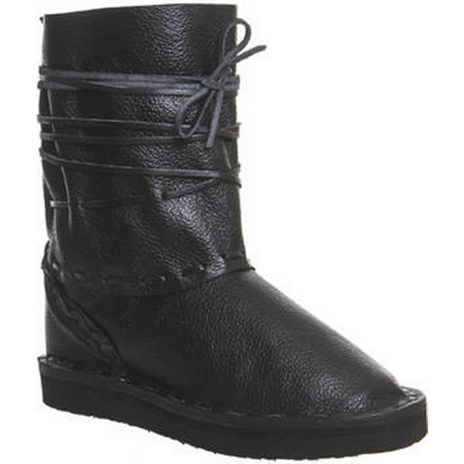 Chamula Vw Vw Vw Boot BLACK LEATHER 9e7a9d