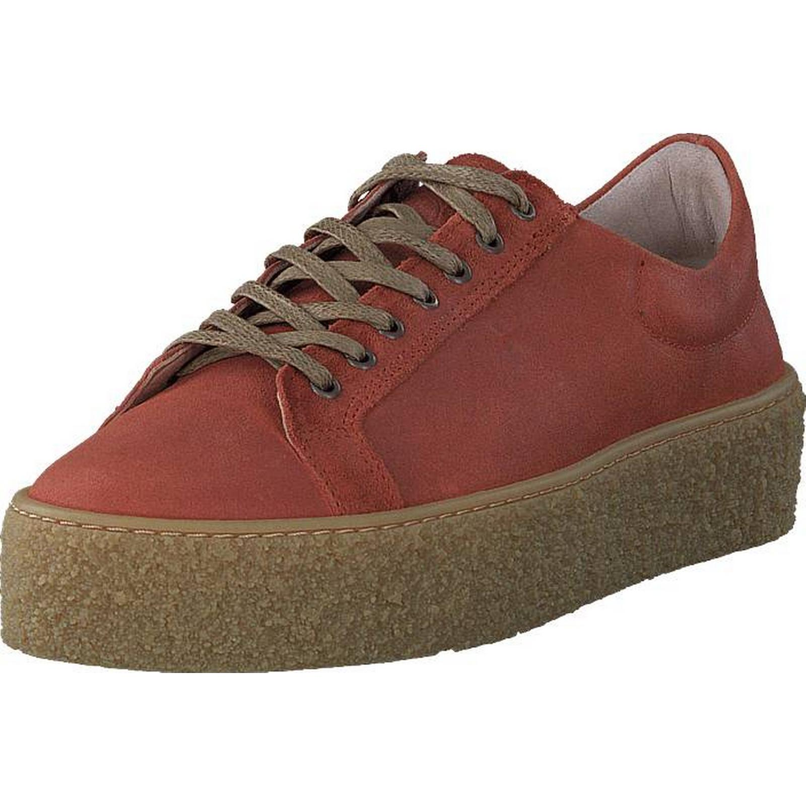 Sneaky Steve Sidder Light Light Sidder Rust Suede, Shoes, Trainers & Sport Shoes , Low-top Trainers, Red, Brown, Female, 36 11762b