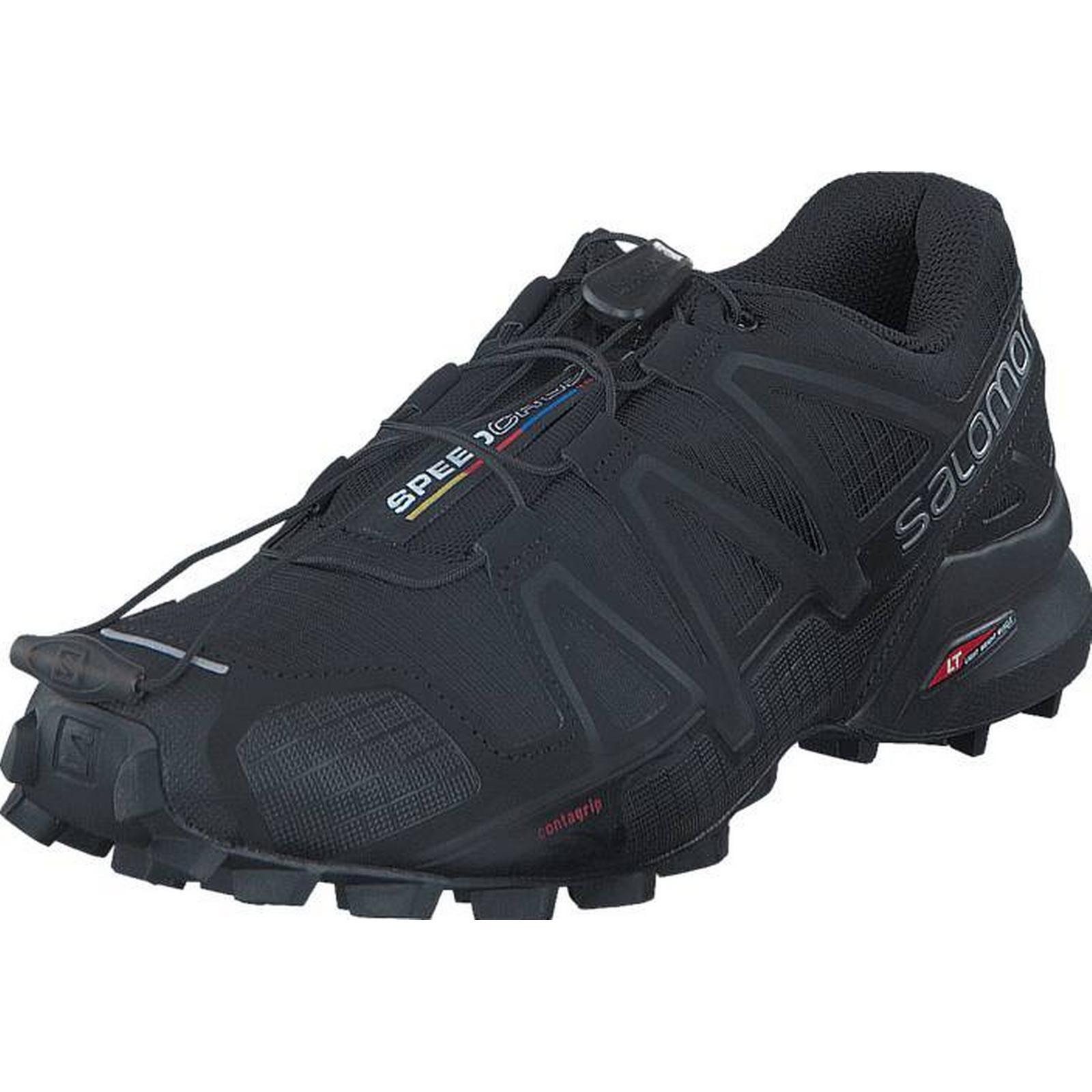 Salomon Speedcross W 4 W Speedcross Black/Black/Black Metallic, Shoes, Trainers & Sport Shoes , Walking Shoes, Grey, Black, Female, 40 3c584a