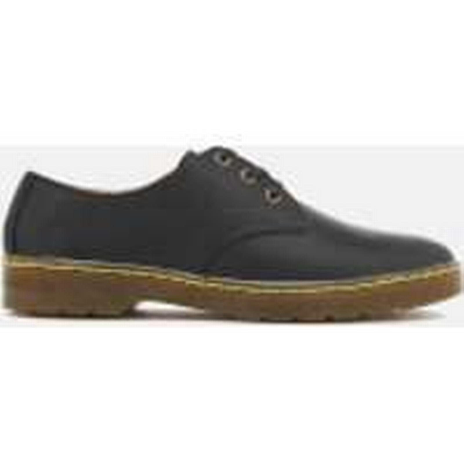 Dr. Martens Derby Men's Cruise Coronado Leather Derby Martens Shoes - Black - UK 11 - Black 15068d