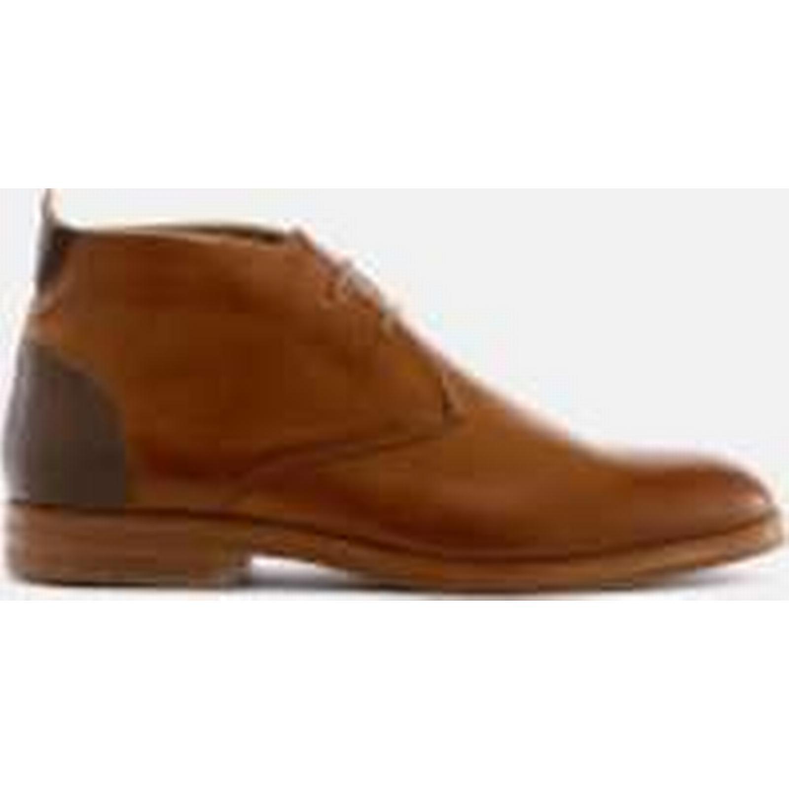 Hudson - London Men's Matteo Leather Desert Boots - Tan - Hudson UK 11 - Tan 4eff3c