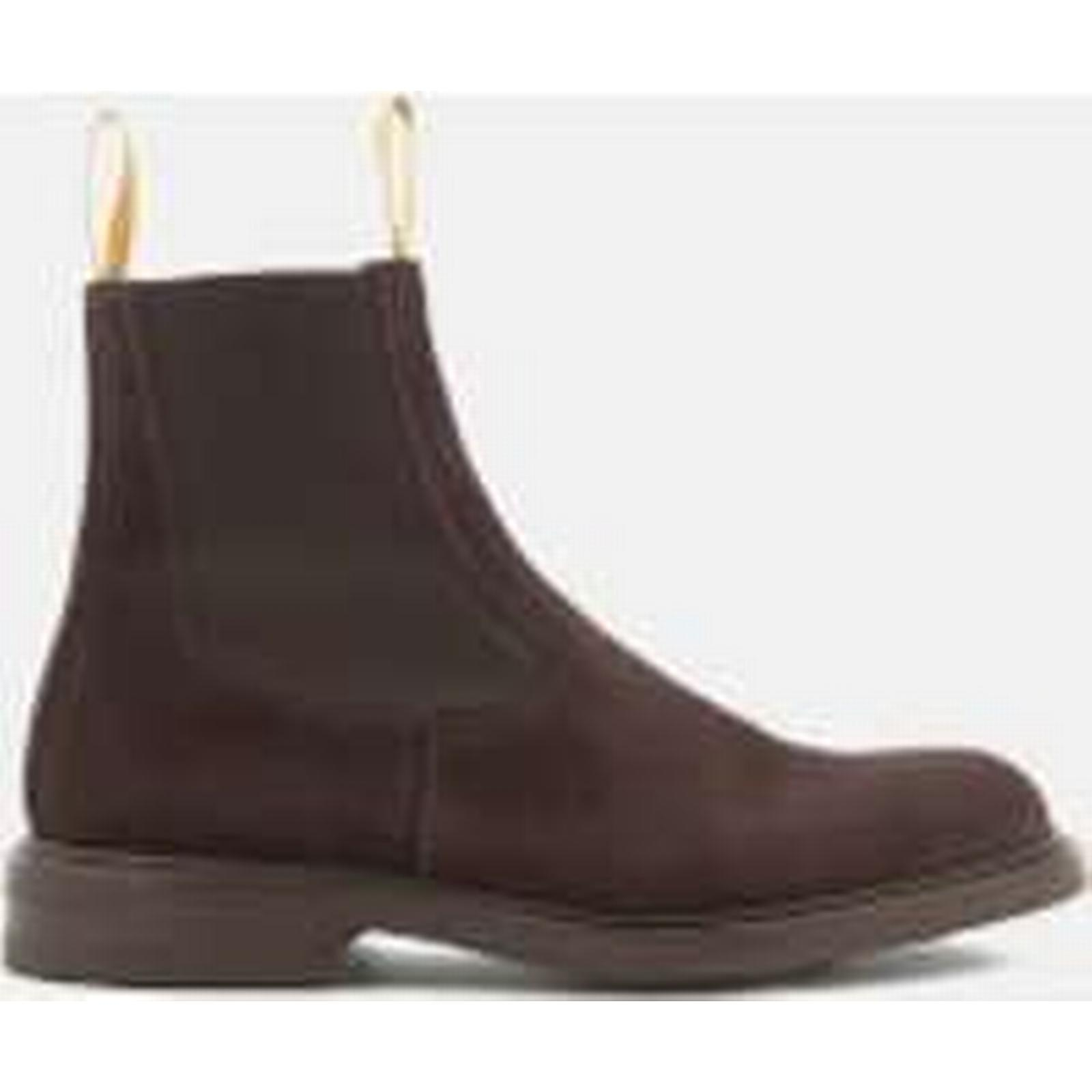 Tricker's Men's Stephen - Reversed Suede Chelsea Boots - Stephen Coffee 002eb0