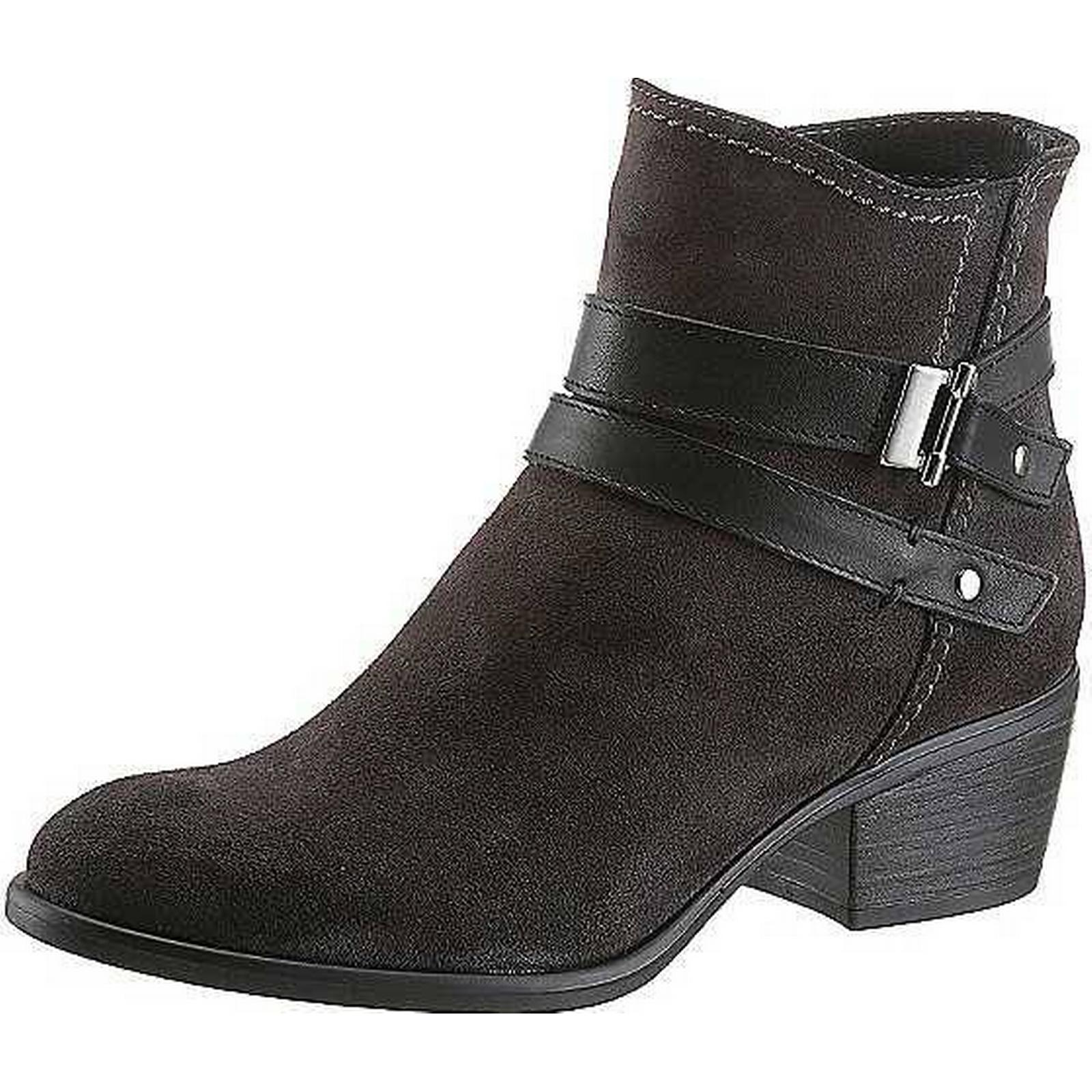 Tamaris Tamaris-Man/Woman-Low Suede Ankle Boots By Tamaris-Man/Woman-Low Tamaris cost 6897d3