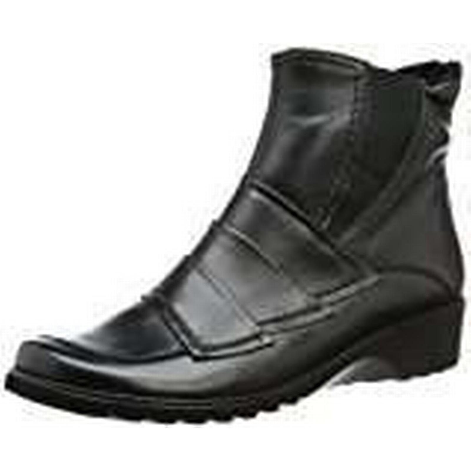 Ara Schwarz Womens Andros-St Boots Black Schwarz Ara (schwarz 61) Size: 38.5 3f06b2