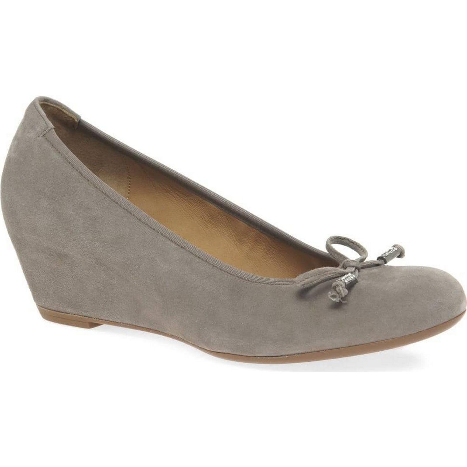 Gabor Colour: Alvin Womens Casual Shoes Colour: Gabor Kiesel Suede, Size: 9 fa2728