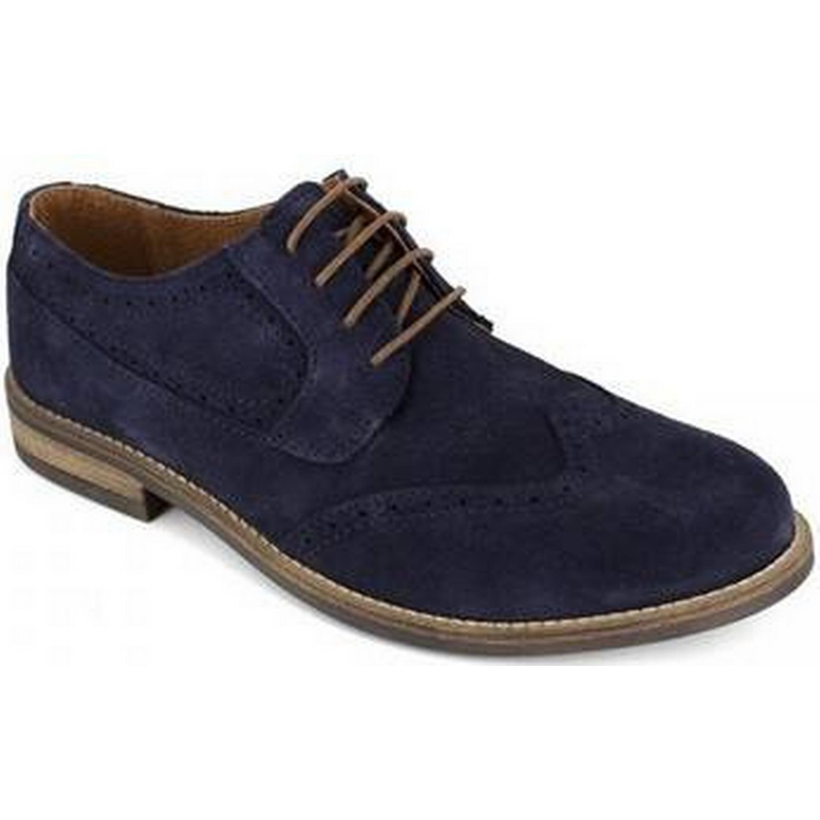 spartoo.co.uk peter blade derby cuir marine hommes & s # risti  ; s & souliers en bleu f9643d
