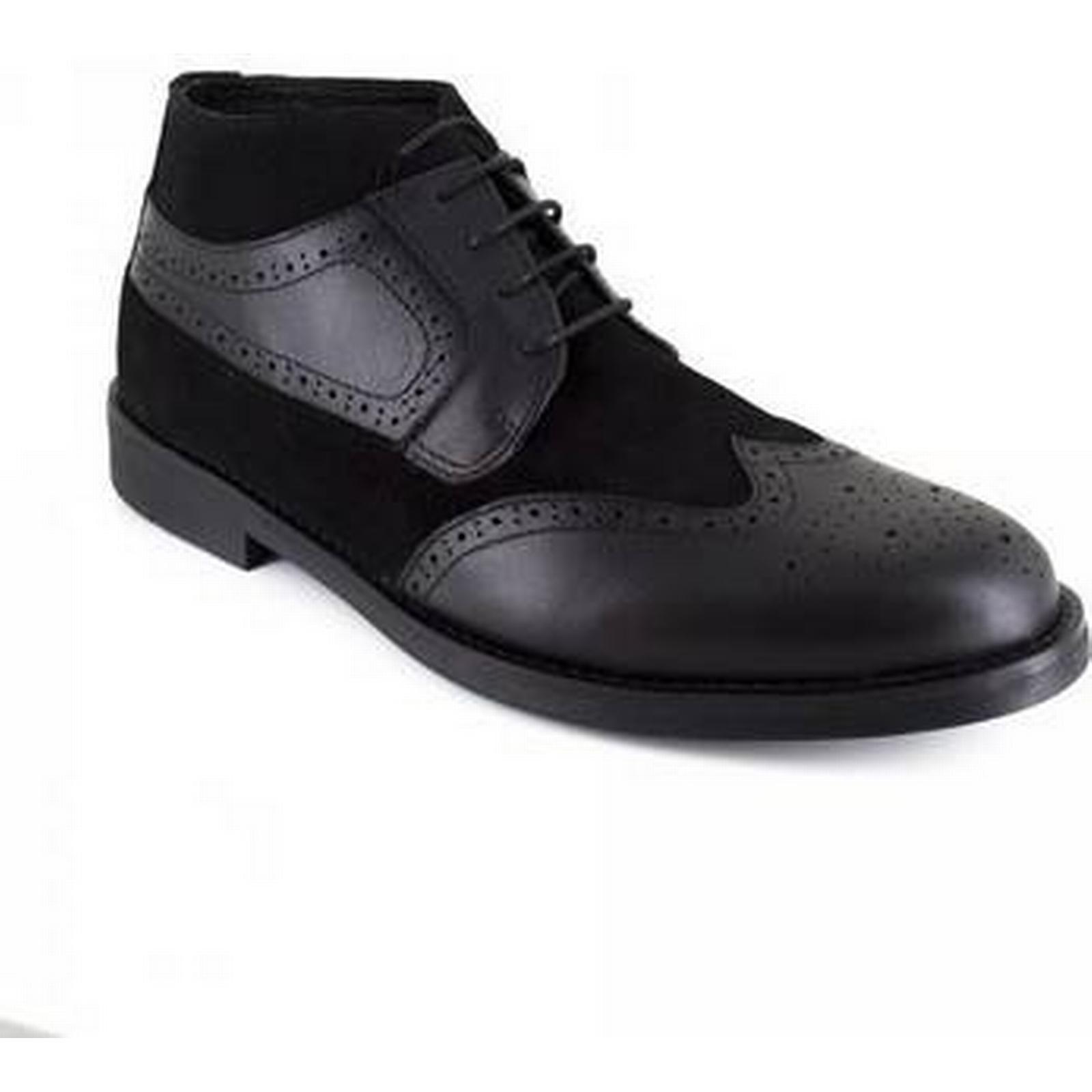 spartoo.co.uk spartoo.co.uk spartoo.co.uk bottes en cuir noir j.bradford faible jb-buvez hommes & #  ; s la mi - bottes en noir c255e6
