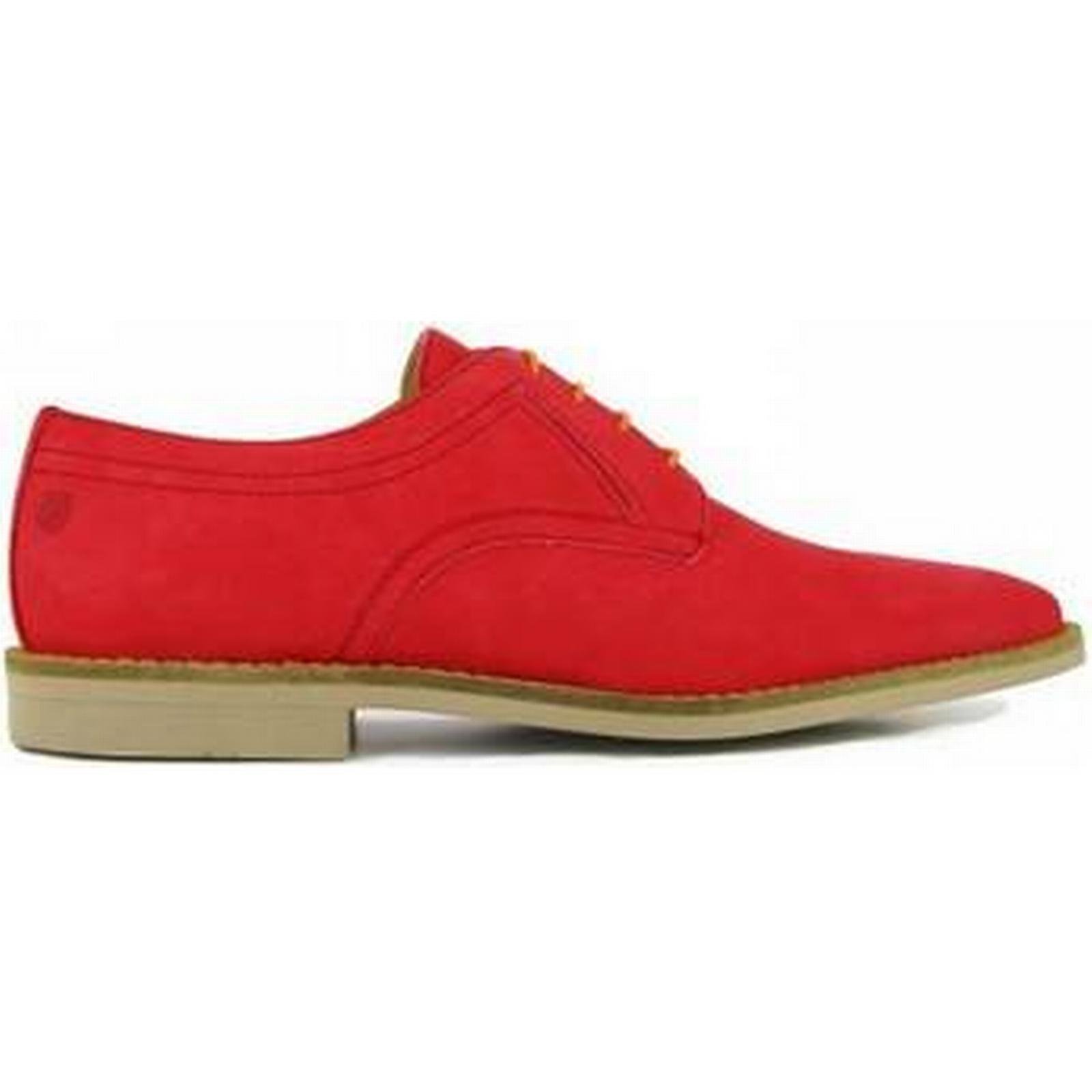 spartoo.co.uk peter blade derby cuir cuir cuir rouge peras hommes & #  ; s souliers rouges 6335ce
