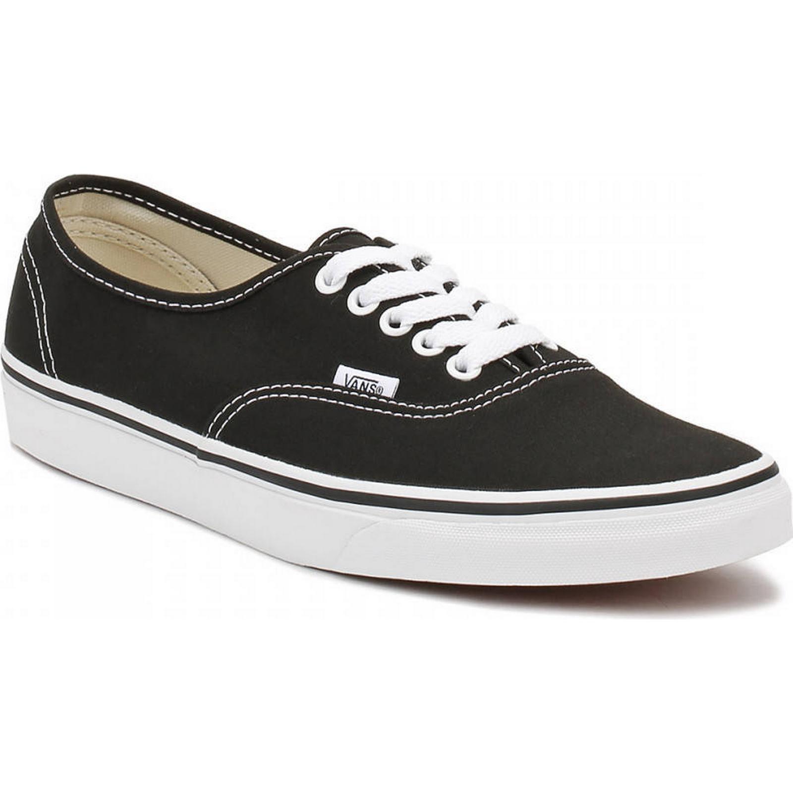 Vans Black Black Black Canvas Authentic Trainers 9458d4