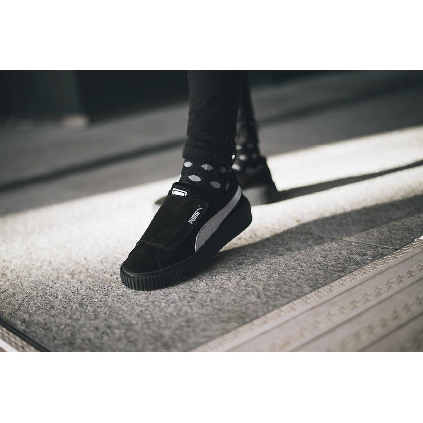 f00f68ff66 Platform sneakers Platform Satin Women's Puma Strap Puma Shoes Puma  qTBXaPxwz