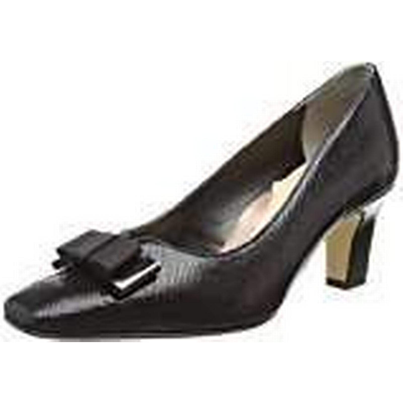 Van Dal Women's Kett Closed Print), Toe Heels, (Black Reptile Print), Closed 6 UK 39 EU cabefa