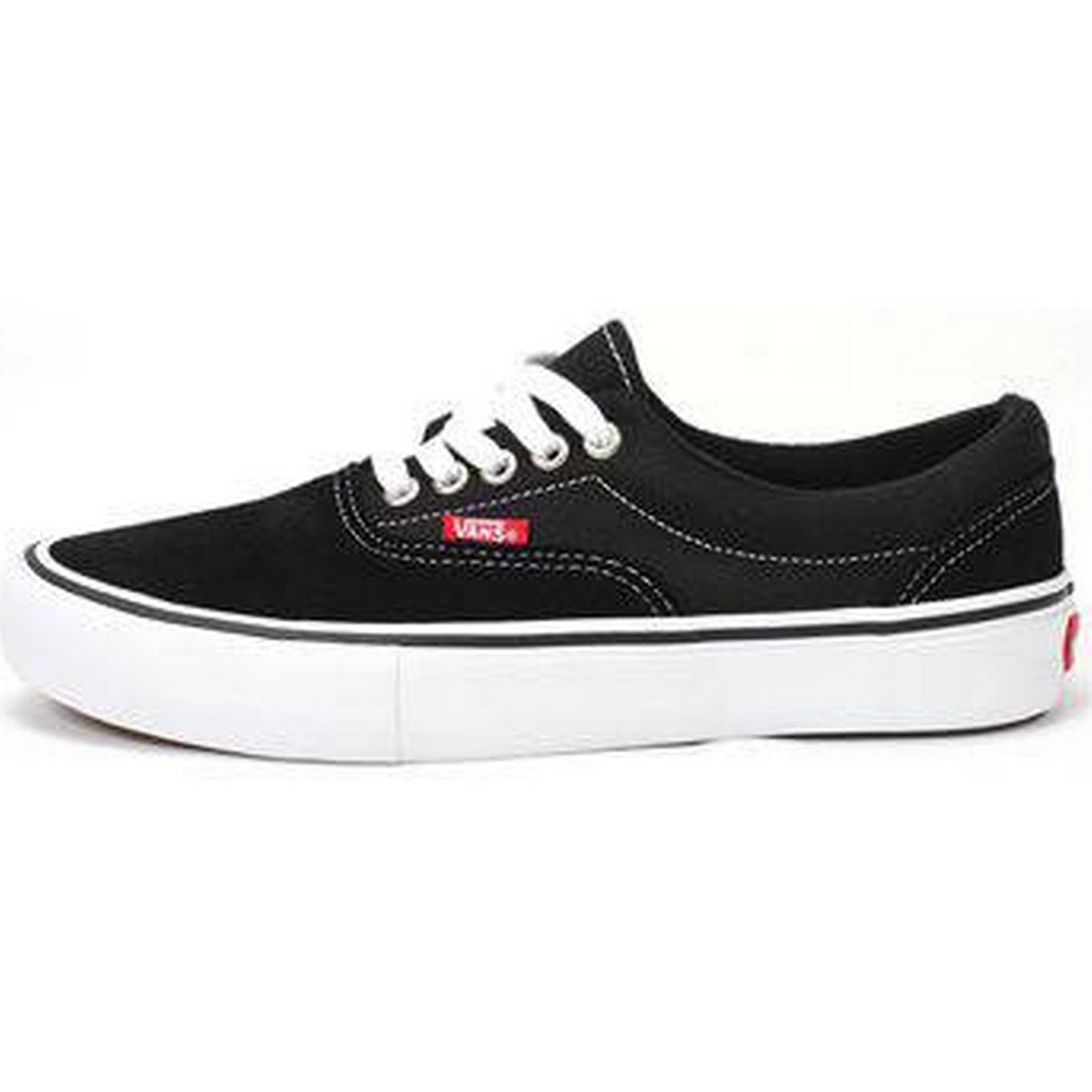 Man's/Woman's:Vans Era Pro Black/White/Gum:Stable Black/White/Gum:Stable Black/White/Gum:Stable Quality a38671
