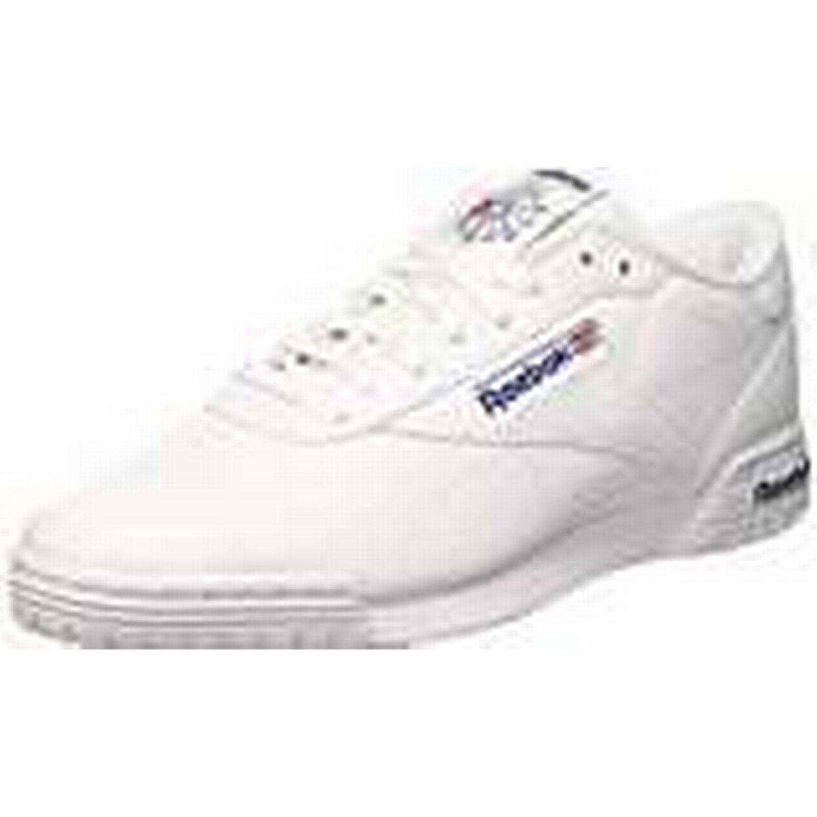 Reebok Men's Ex-O-Fit Lo Clean Logo Int Gymnastics Shoes, (Intense 11 White Royal Blue 0), 11 (Intense UK 45 1/2 EU 9df3d6