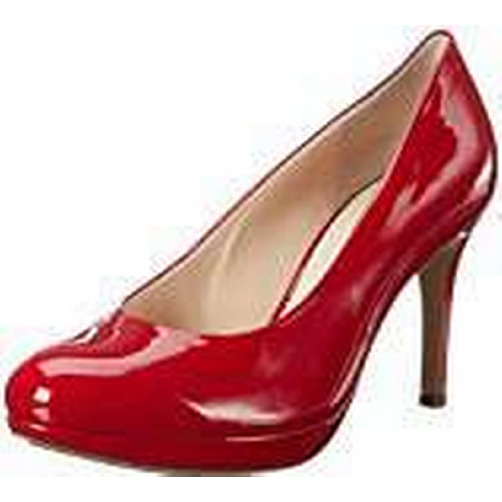 HÖGL Women''s Court Platform Heels, 39 (4000 Red), 6 UK 39 Heels, EU 04ce12