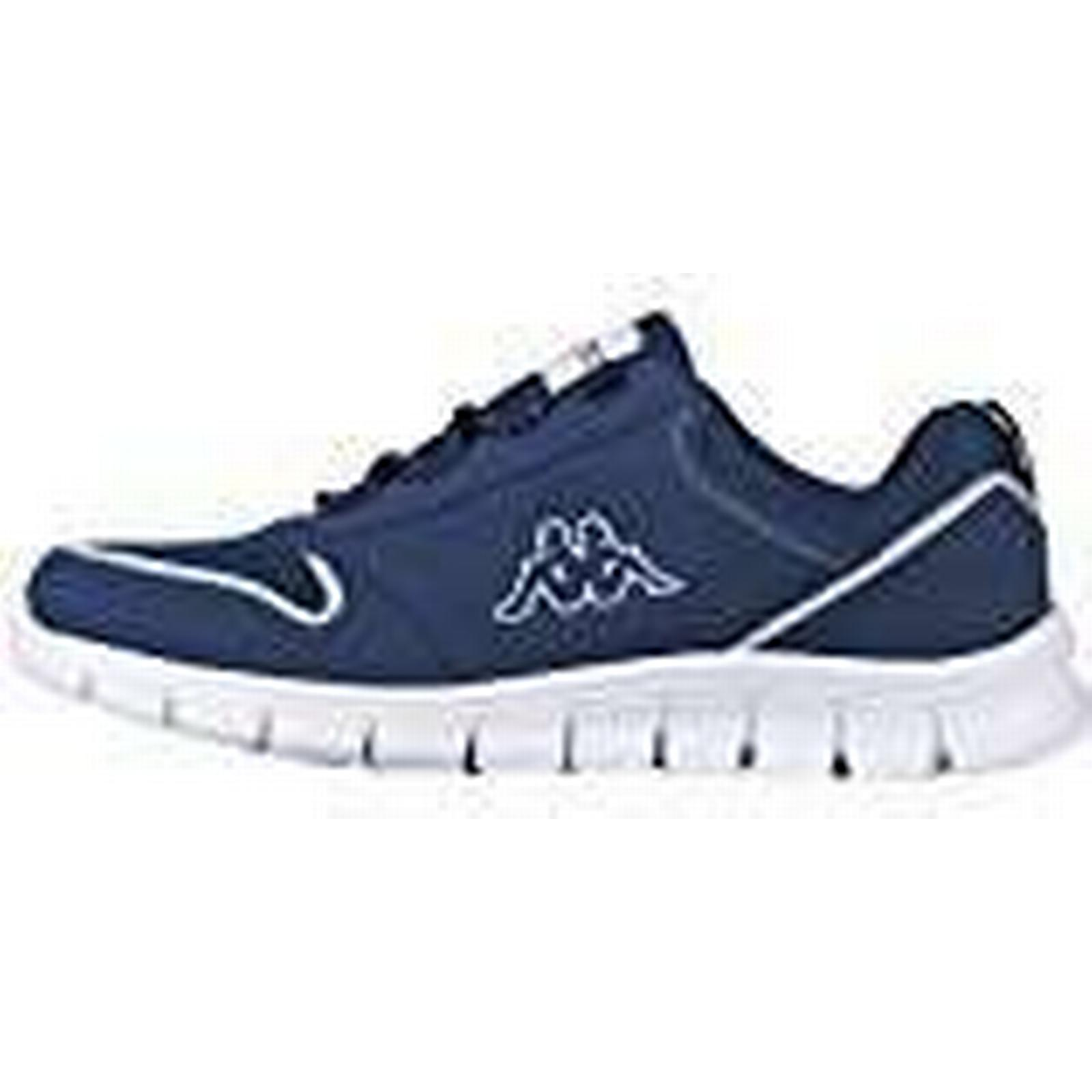 Kappa Blue Unisex Adults' Amora Low-Top Sneakers, Blue Kappa (6710 Navy/White), 6.5 UK 3c4044