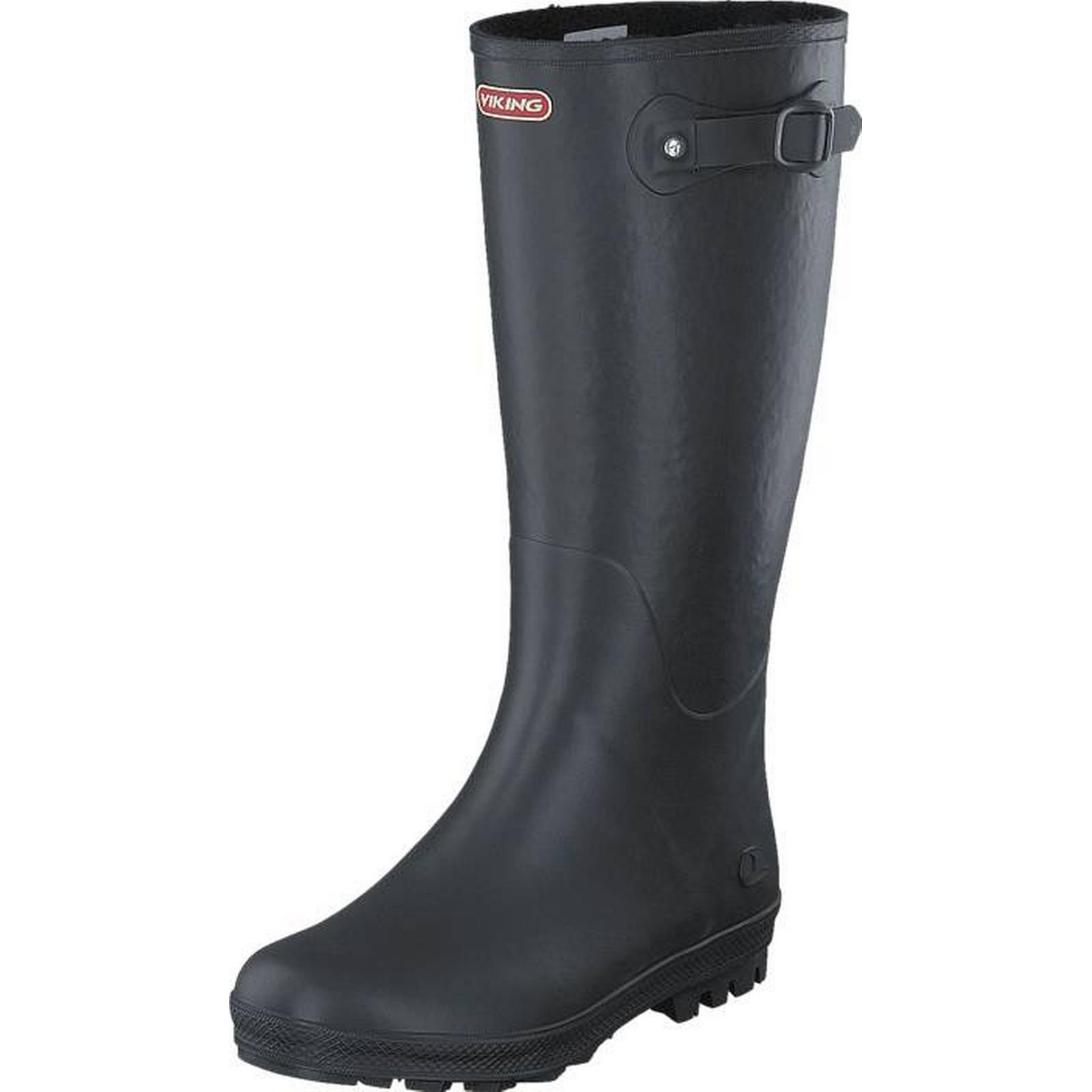Viking Vinter Foxy Vinter Viking Black, Shoes, High boots & Booties, Tall Wellies, Grey, Female, 40 f30ace