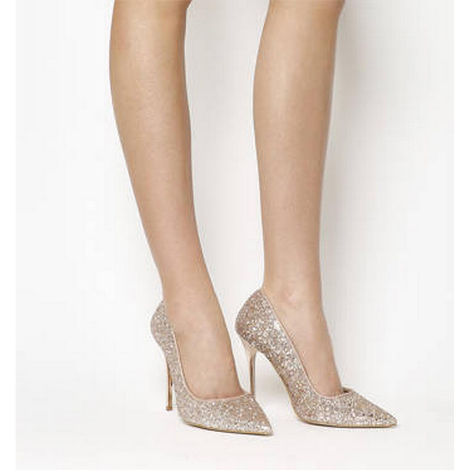 Office Point Onto Point Office Court ROSE GOLD GLITTER bae5d9
